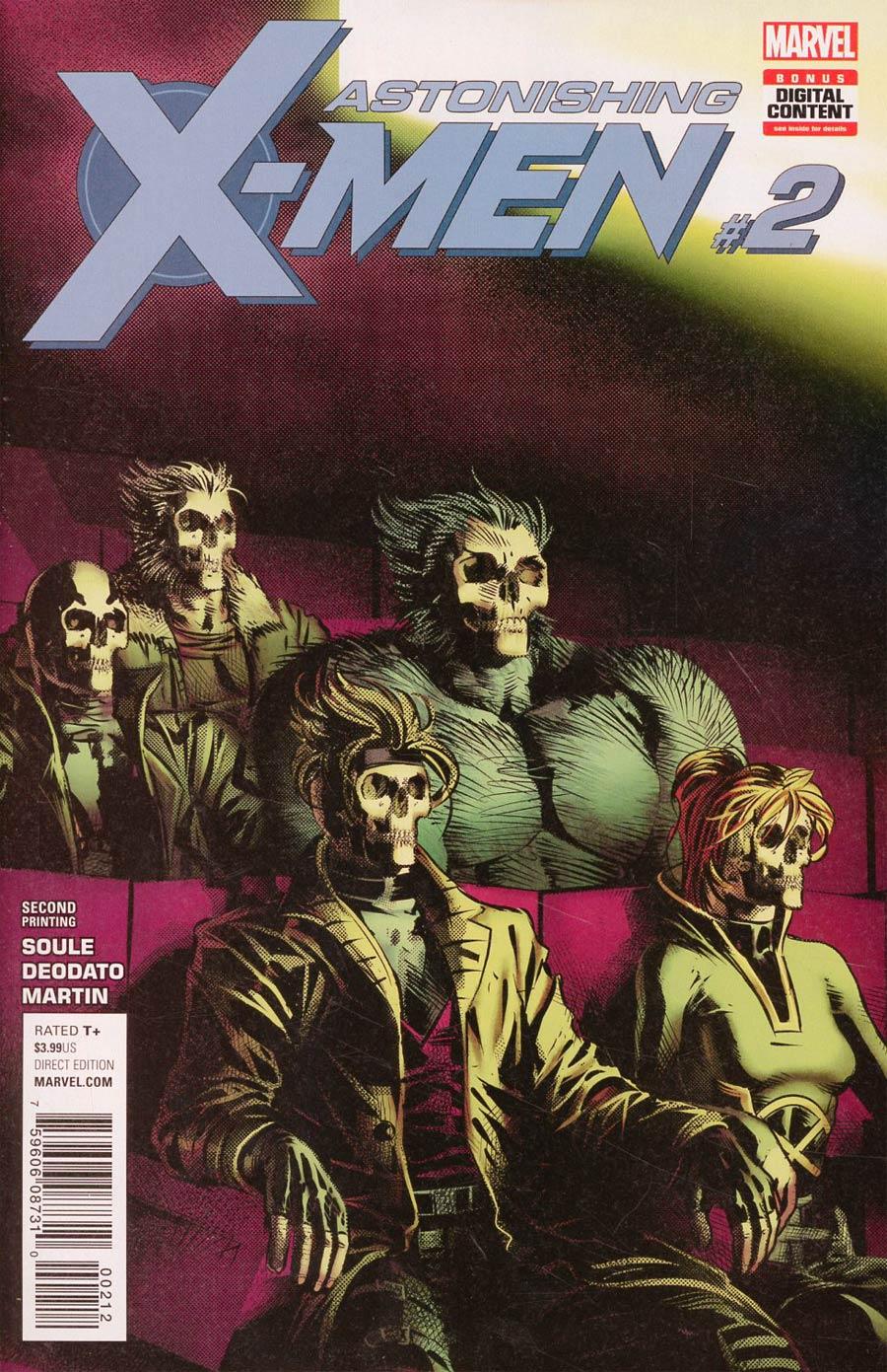 Astonishing X-Men Vol 4 #2 Cover E 2nd Ptg Variant Mike Deodato Cover