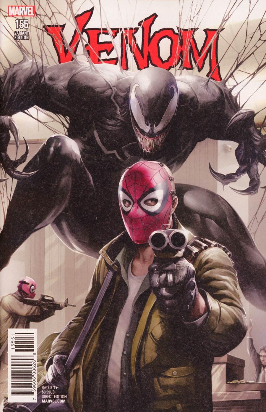 Venom Vol 3 #155 Cover F Incentive Francesco Mattina Variant Cover (Marvel Legacy Tie-In)