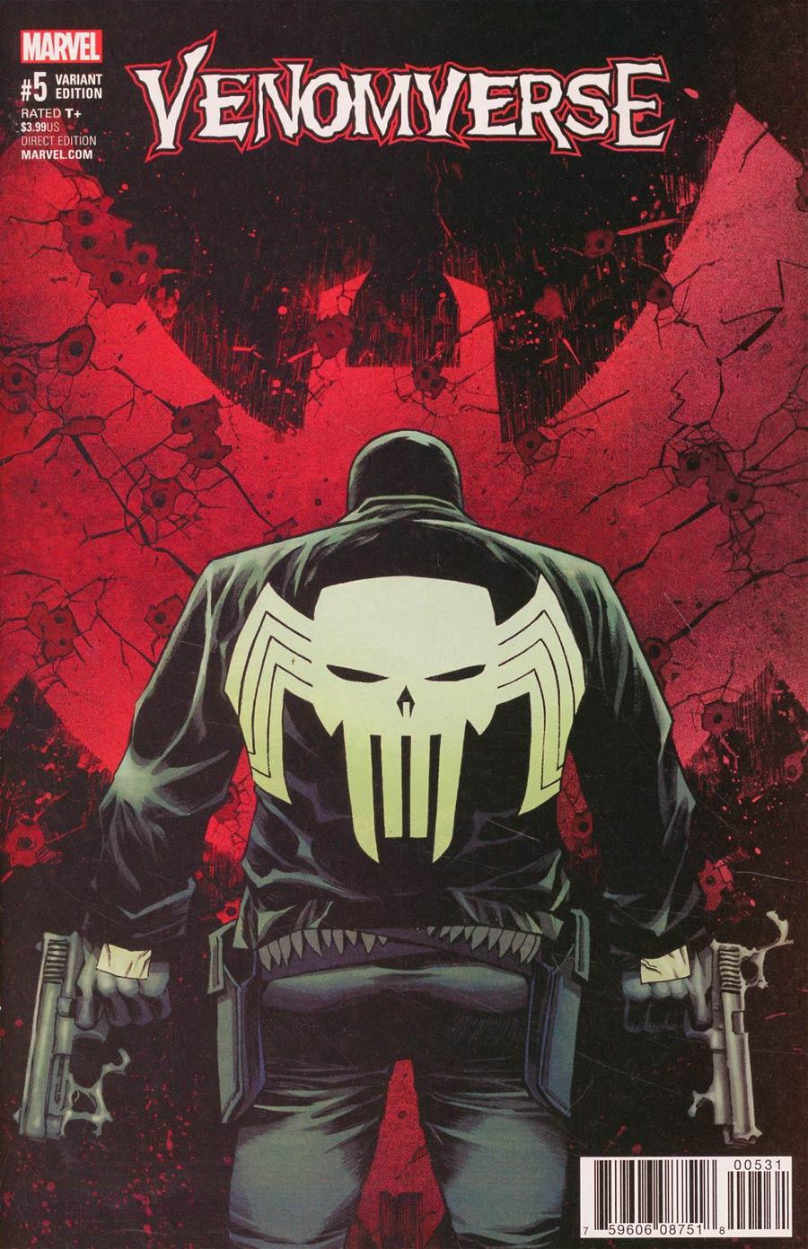 Venomverse #5 Cover D Incentive Declan Shalvey Variant Cover
