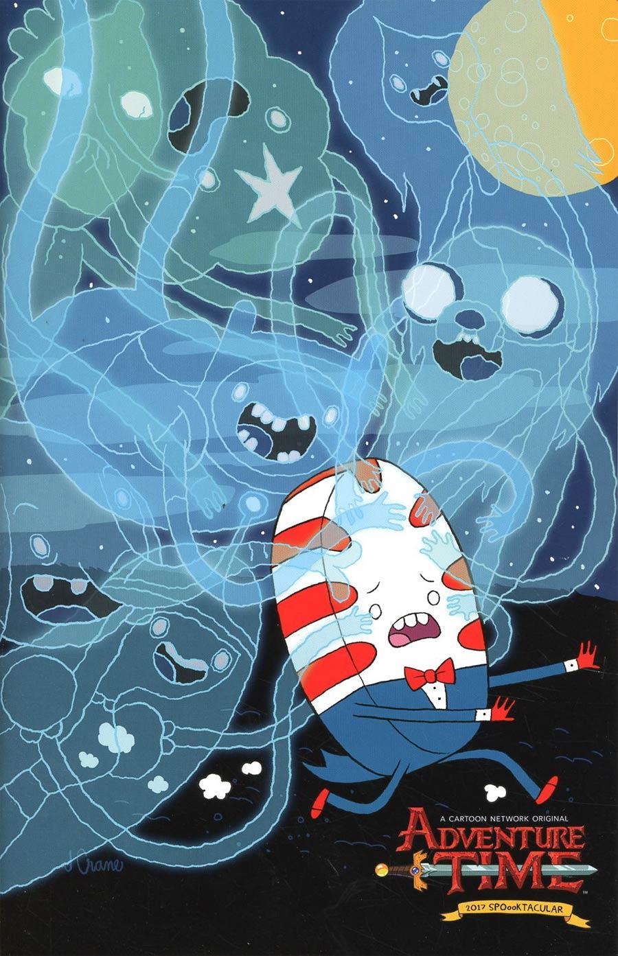 Adventure Time 2017 Spoooktacular #1 Cover B Incentive Jordan Crane Virgin Variant Cover
