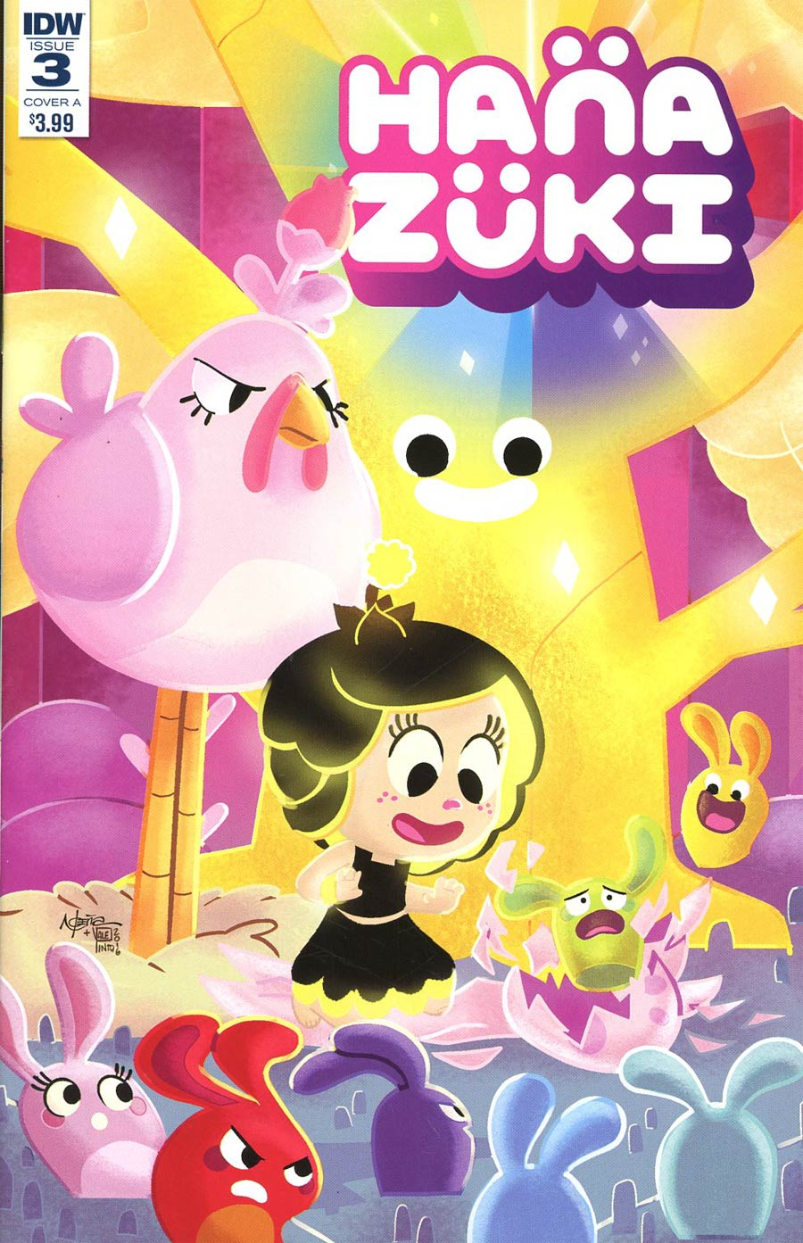 Hanazuki Full Of Treasures #3 Cover C Incentive Nicoletta Baldari Variant Cover