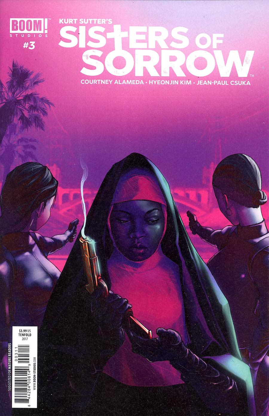 Sisters Of Sorrow #3 Cover A Taj Tenfold