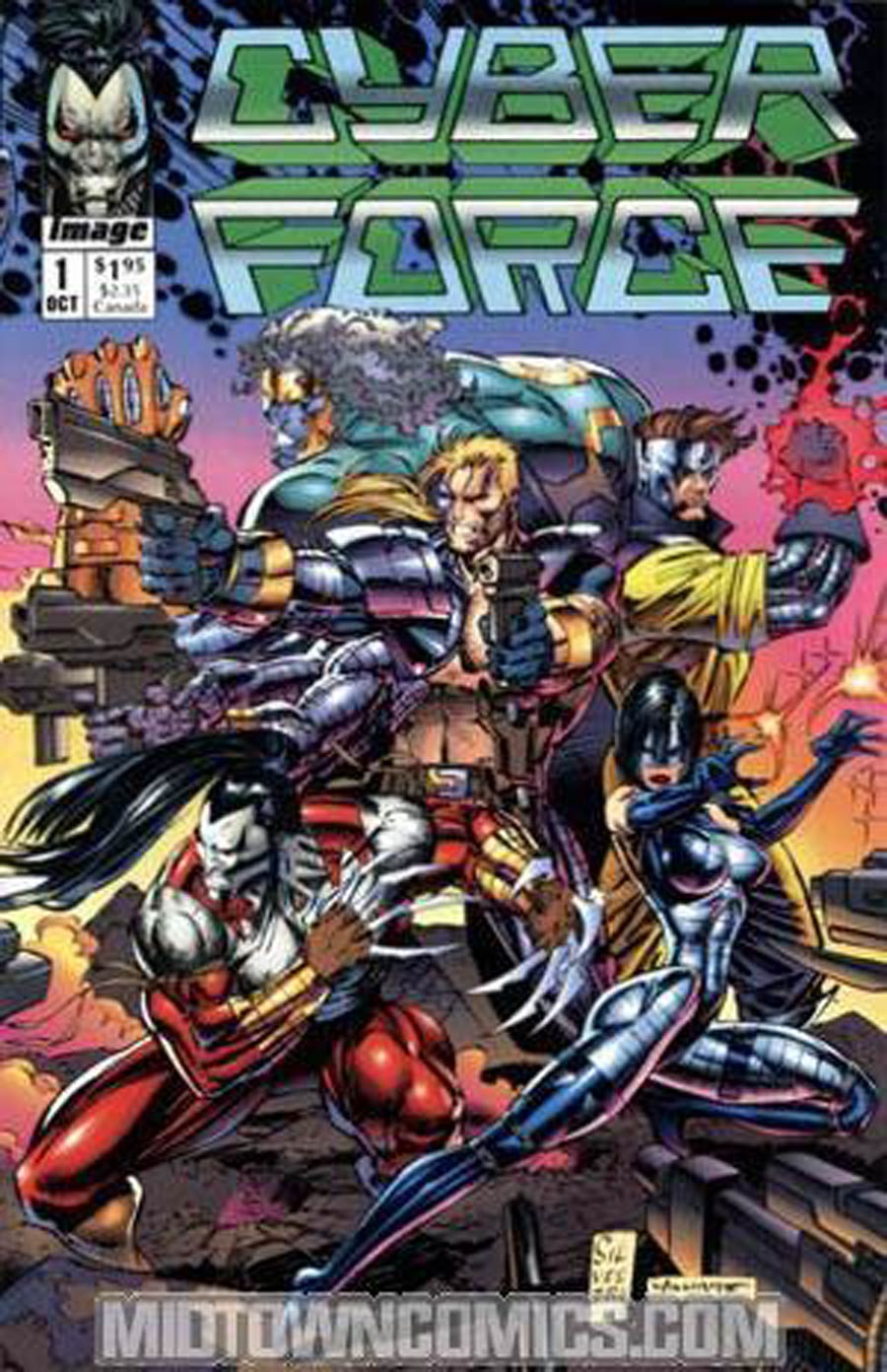 Cyberforce #1 Cover B Without Coupon