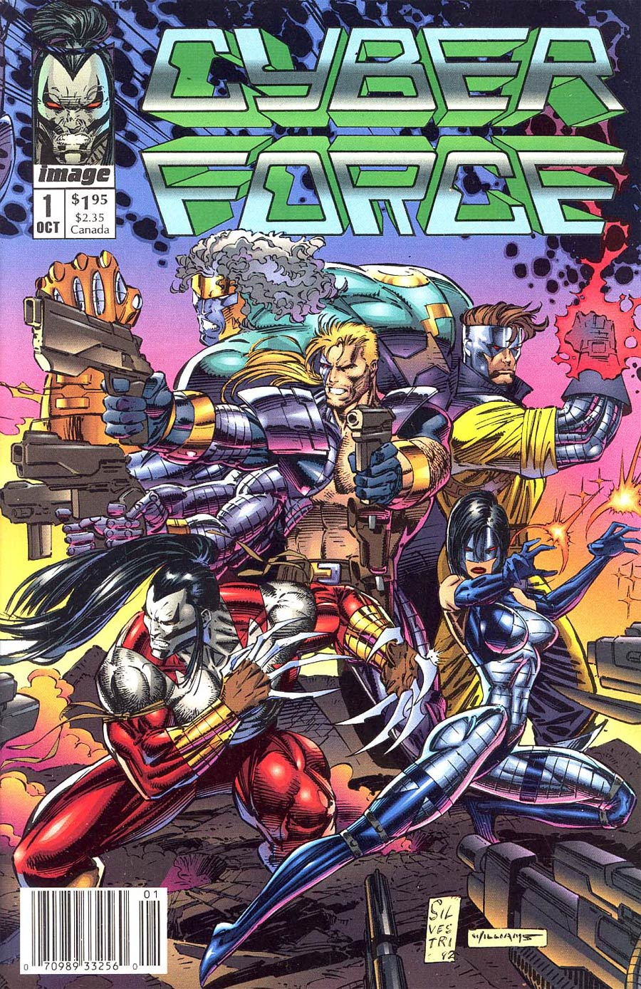 Cyberforce #1 Cover C Newsstand Edition