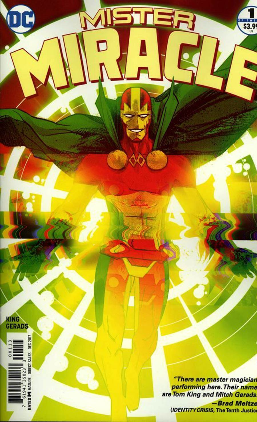 Mister Miracle Vol 4 #1 Cover E 3rd Ptg Variant Mitch Gerads Cover