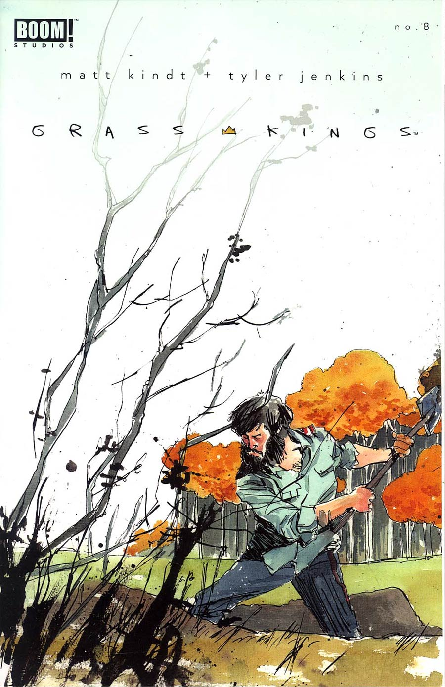 Grass Kings #8 Cover A Regular Tyler Jenkins Cover