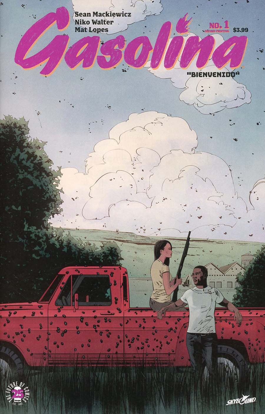 Gasolina #1 Cover C 2nd Ptg Variant Niko Walter Cover