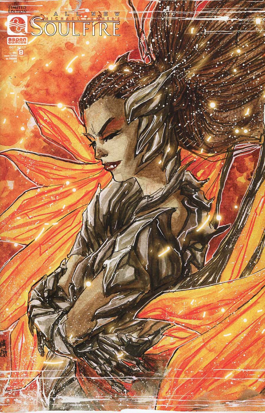 All New Soulfire Vol 2 #8 Cover C Incentive Giuseppe Cafaro Variant Cover