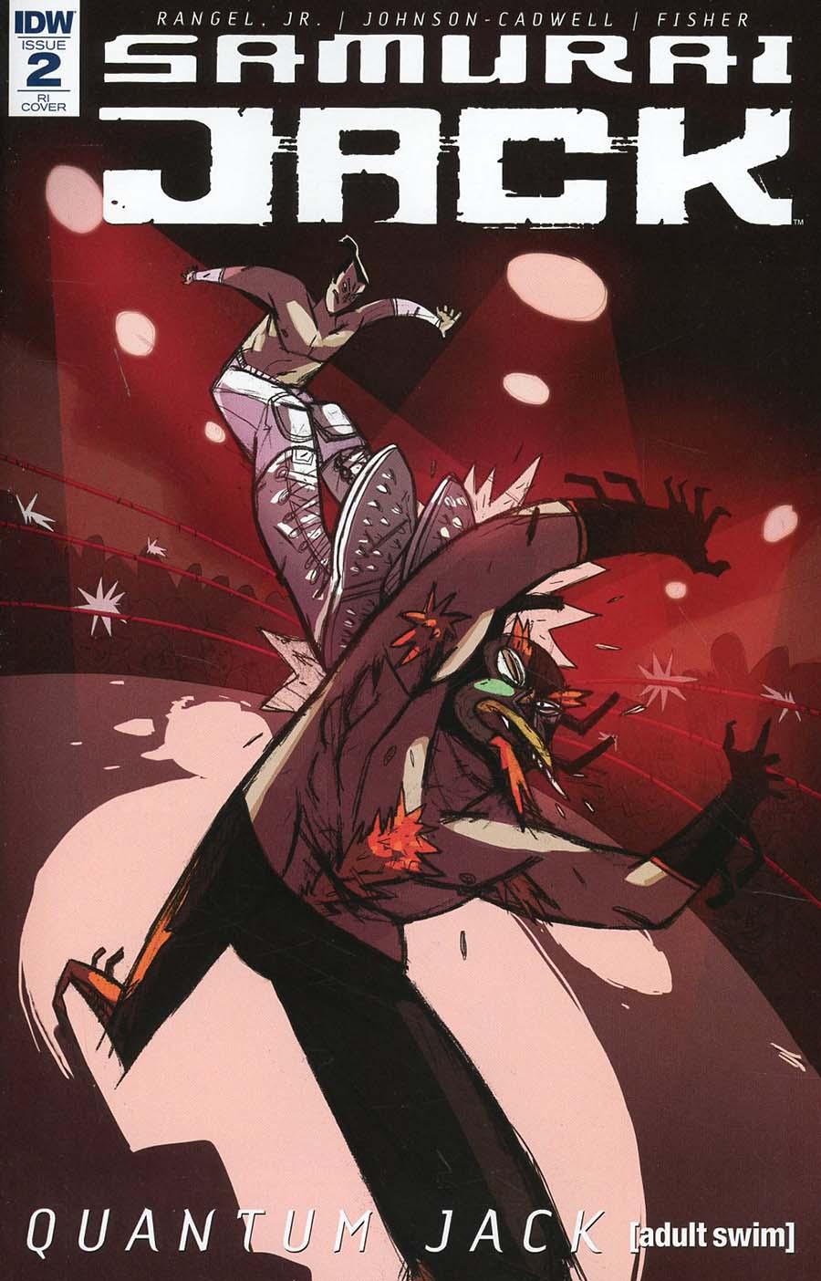 Samurai Jack Quantum Jack #2 Cover C Incentive Edgar Camacho Variant Cover