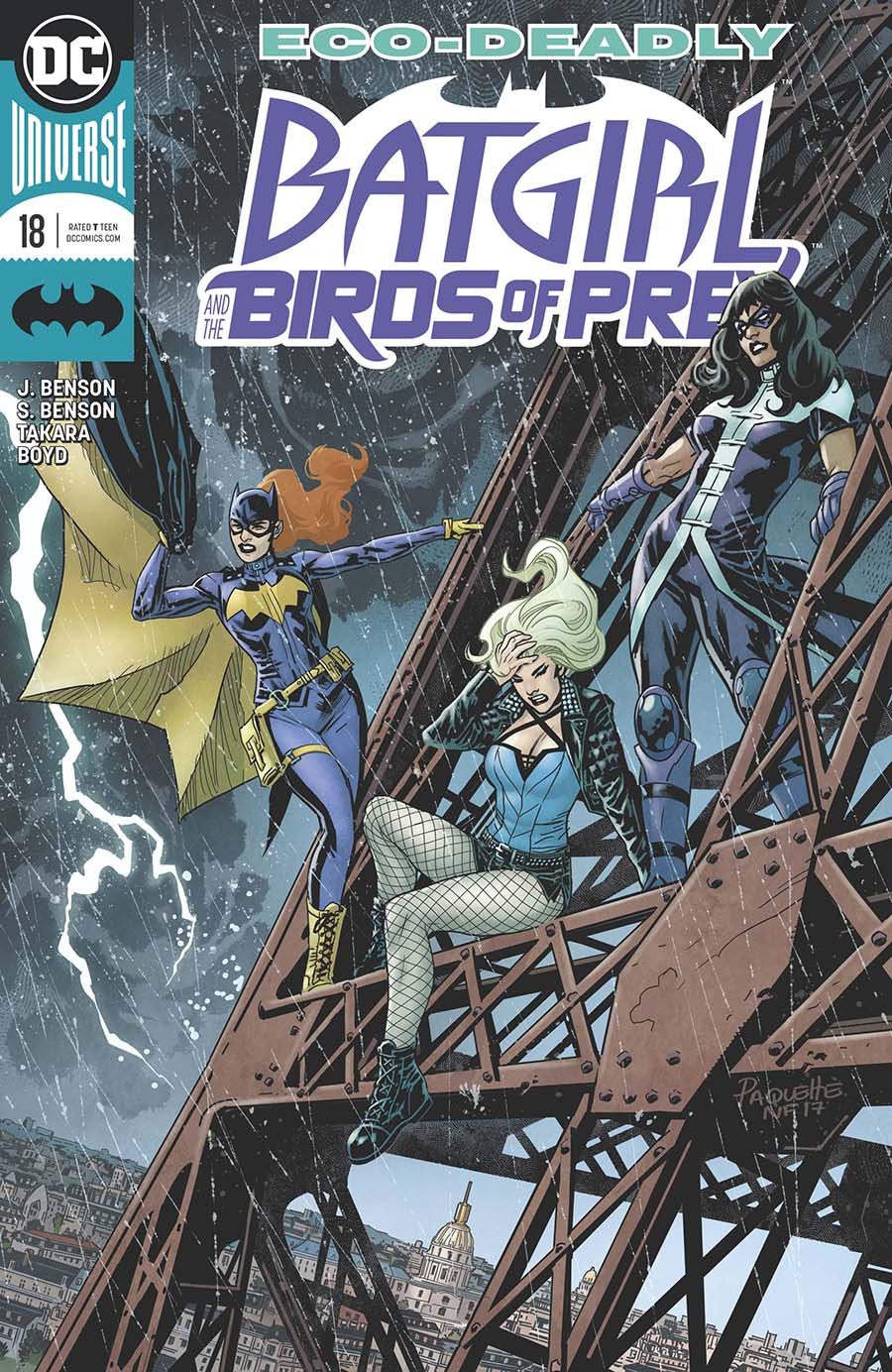 Batgirl And The Birds Of Prey #18 Cover A Regular Yanick Paquette Cover