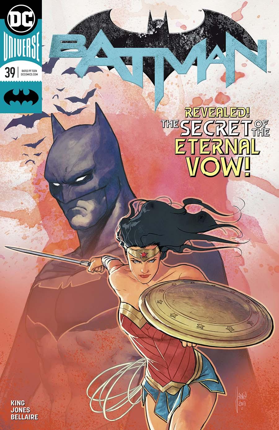 Batman Vol 3 #39 Cover A Regular Mikel Janin Cover