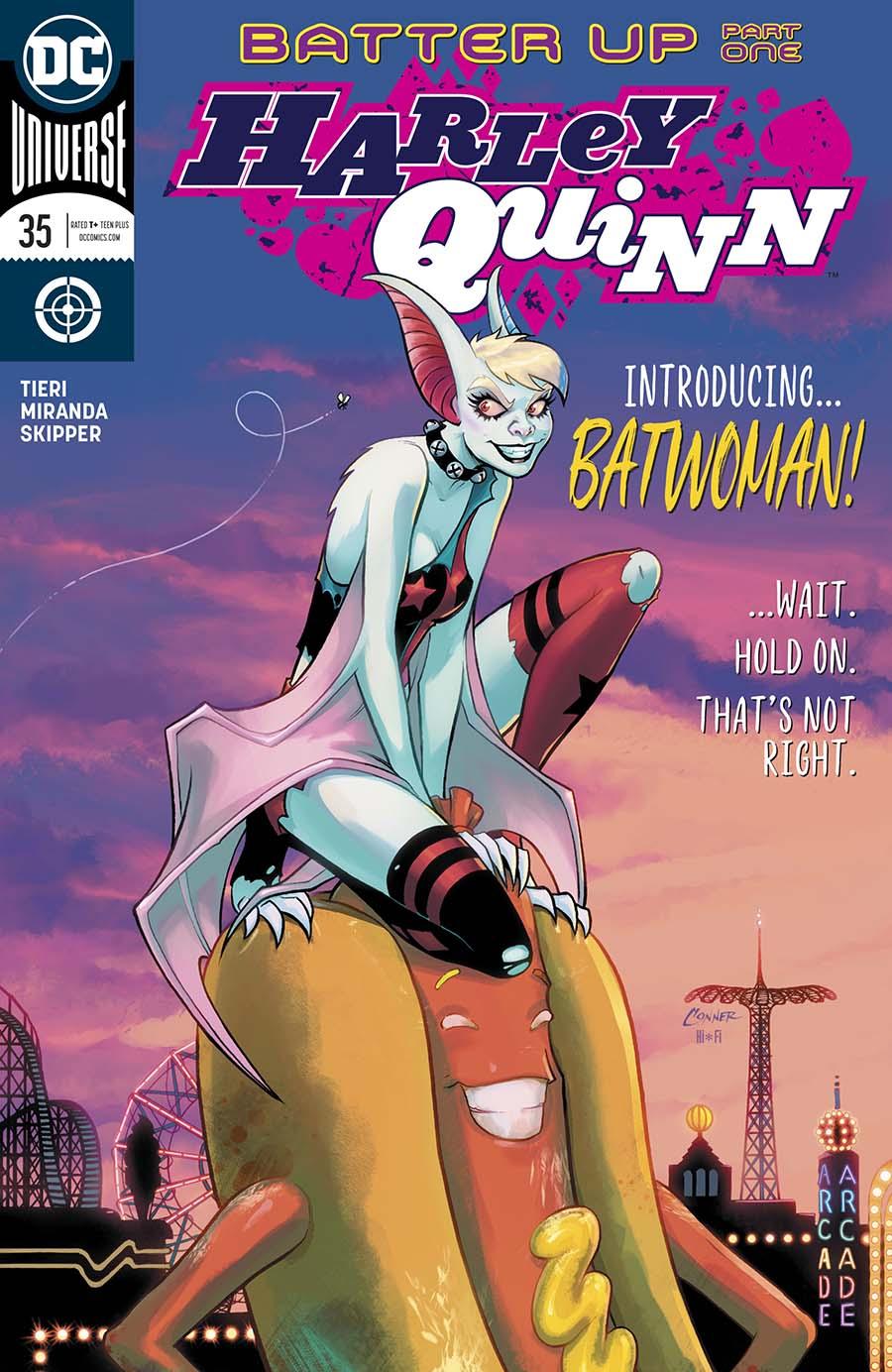 Harley Quinn Vol 3 #35 Cover A Regular Amanda Conner Cover