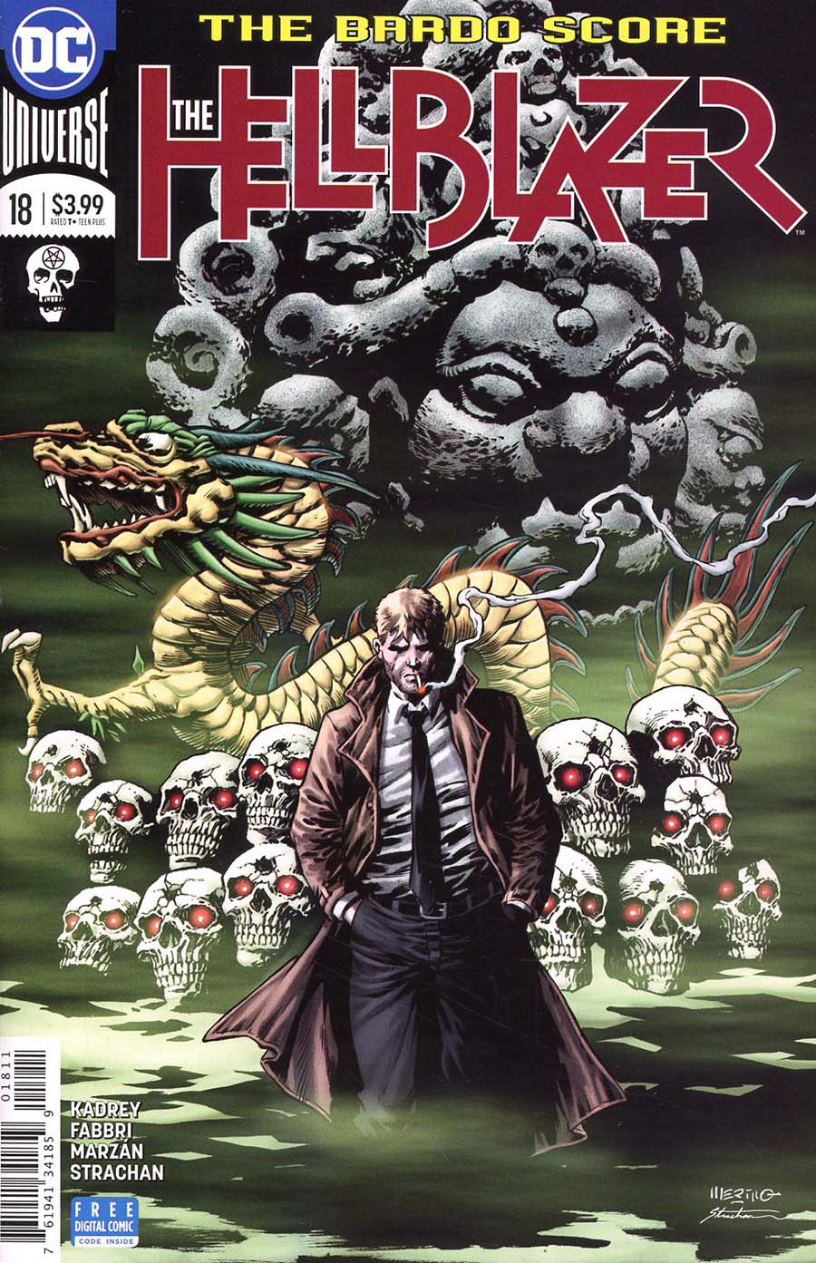 Hellblazer Vol 2 #18 Cover A Regular Jesus Merino Cover