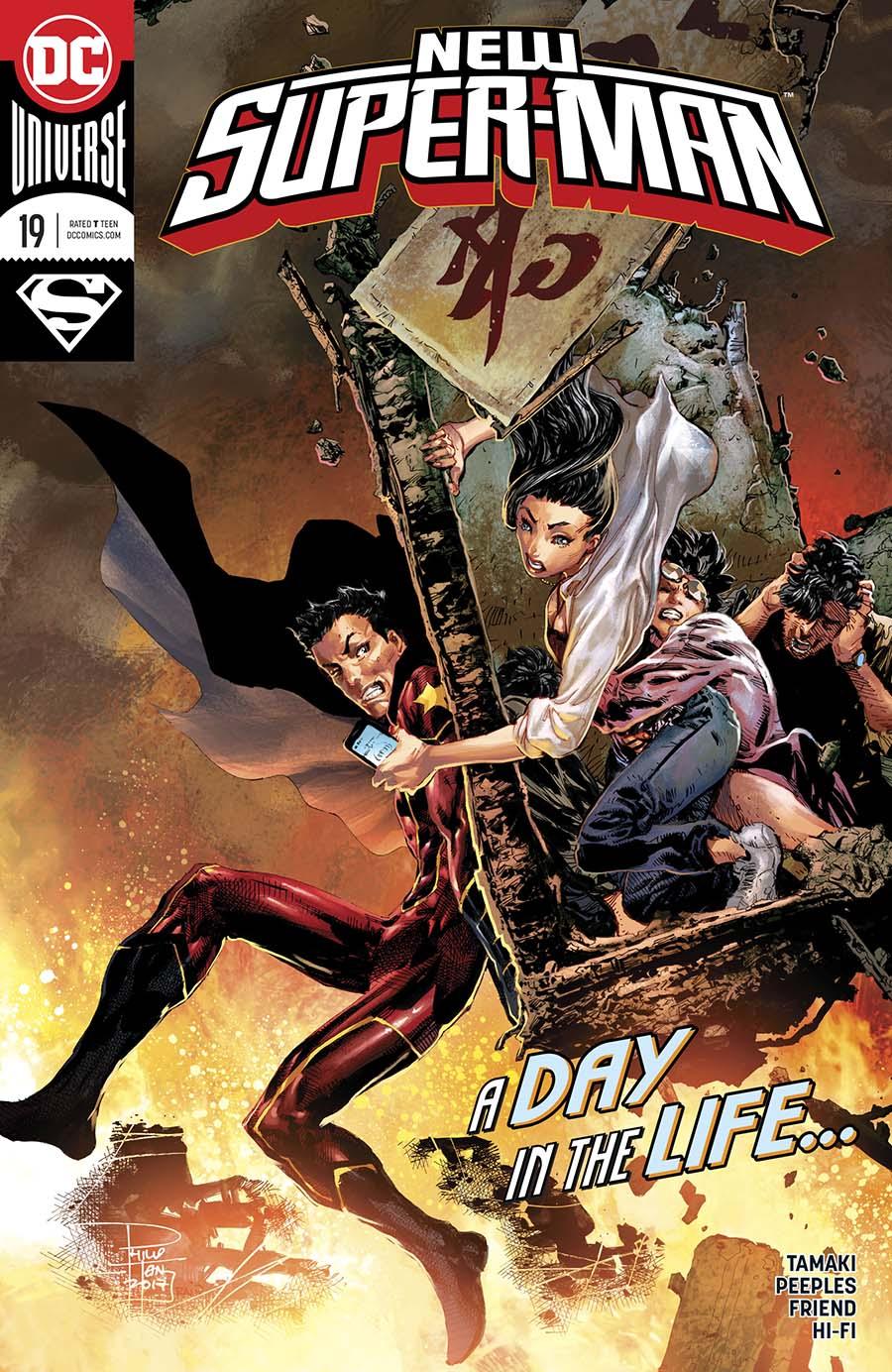 New Super-Man #19 Cover A Regular Philip Tan Cover