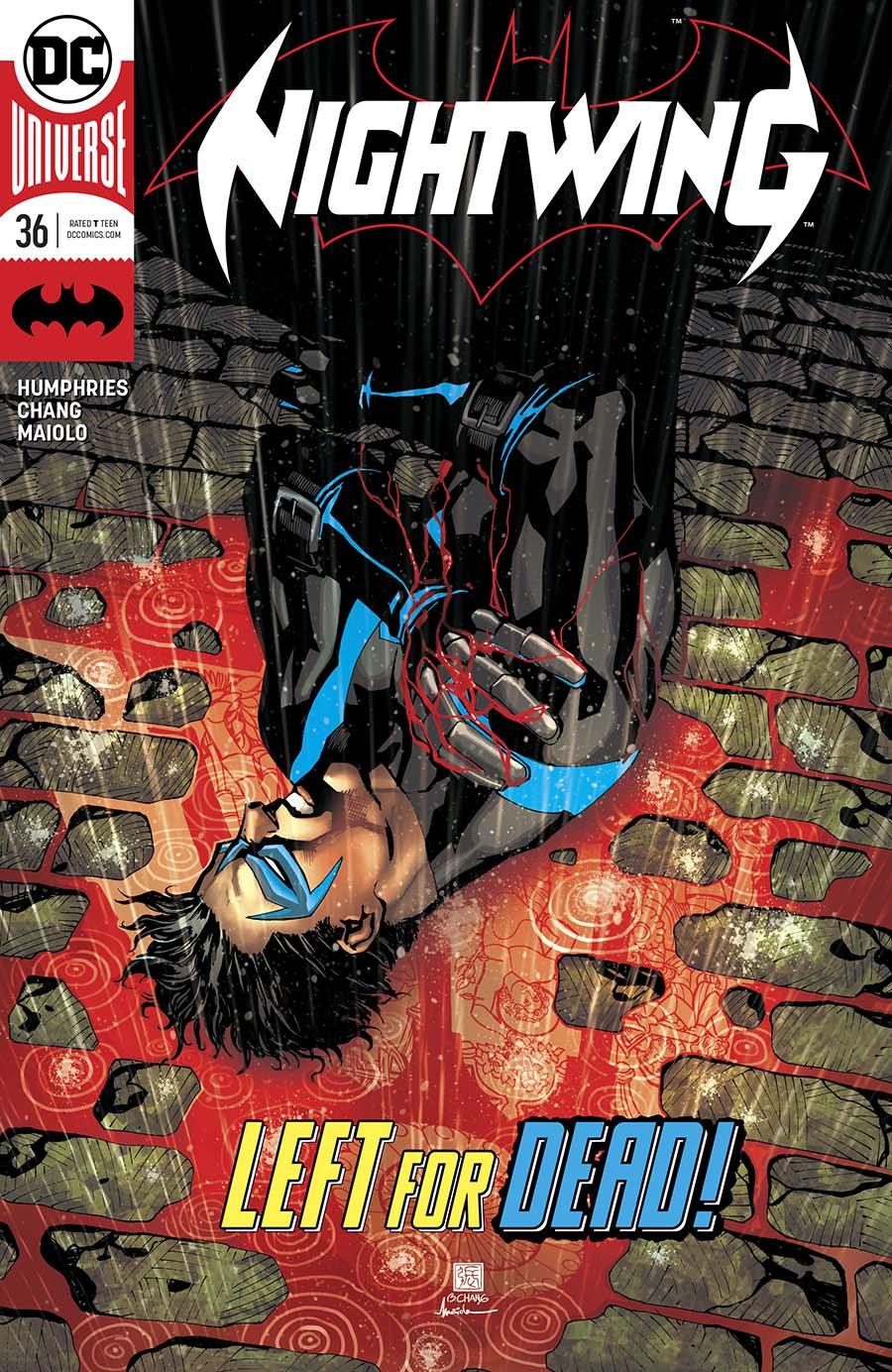 Nightwing Vol 4 #36 Cover A Regular Bernard Chang Cover