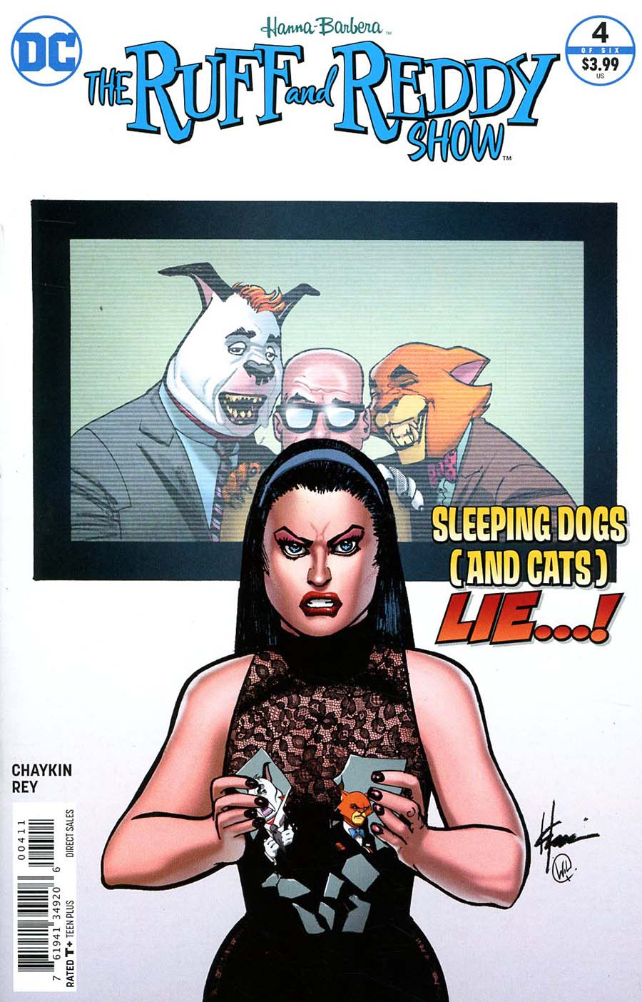 Ruff & Reddy Show #4 Cover A Regular Howard Chaykin Cover