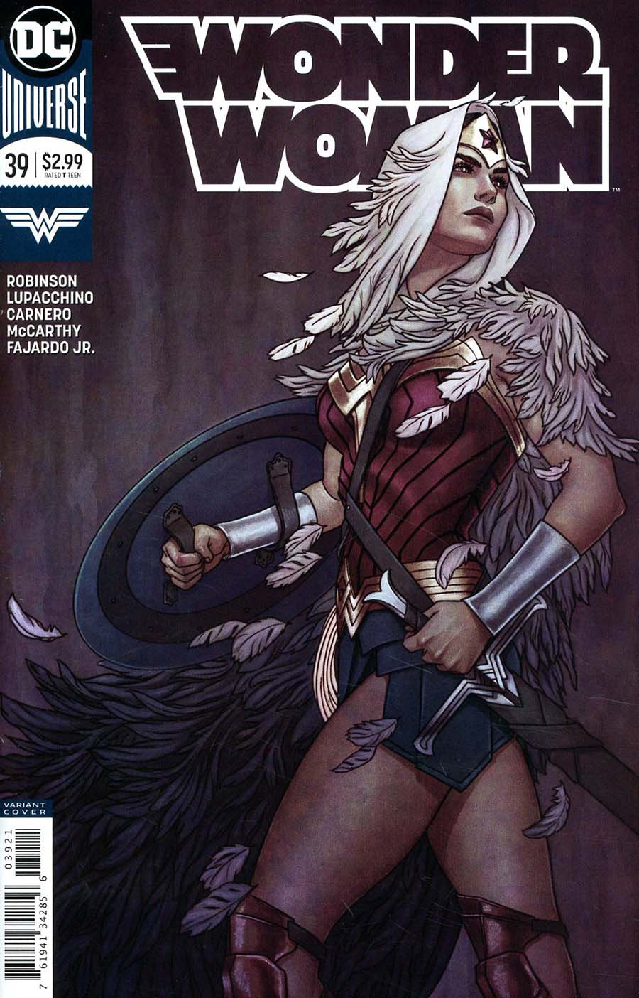 Wonder Woman Vol 5 #39 Cover B Variant Jenny Frison Cover