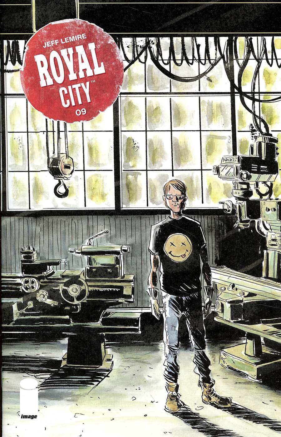 Royal City #9 Cover A Regular Jeff Lemire Cover