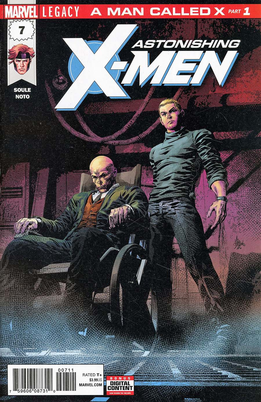 Astonishing X-Men Vol 4 #7 Cover A 1st Ptg Regular Phil Noto Cover (Marvel Legacy Tie-In)