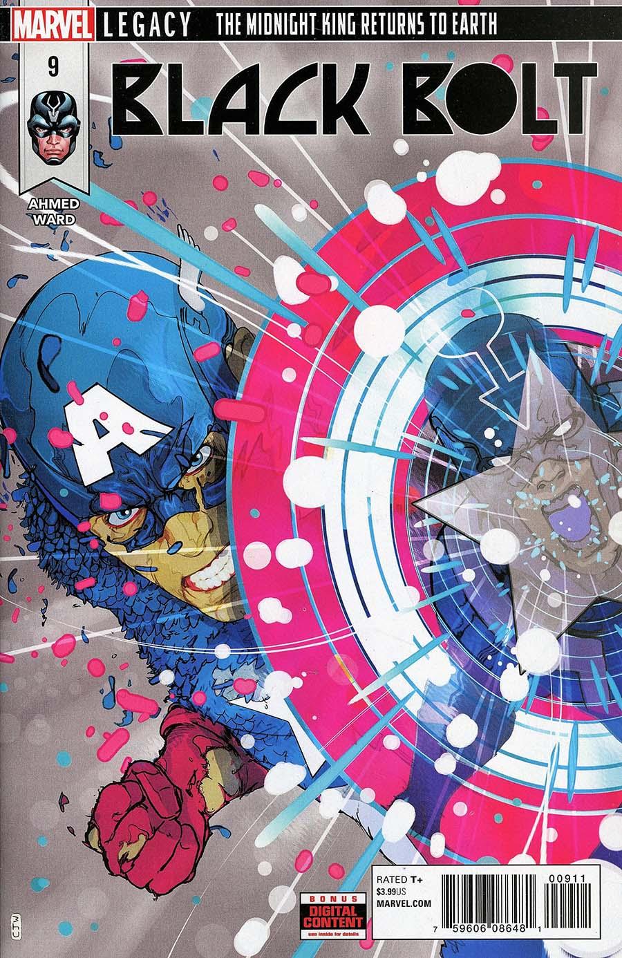 Black Bolt #9 (Marvel Legacy Tie-In)