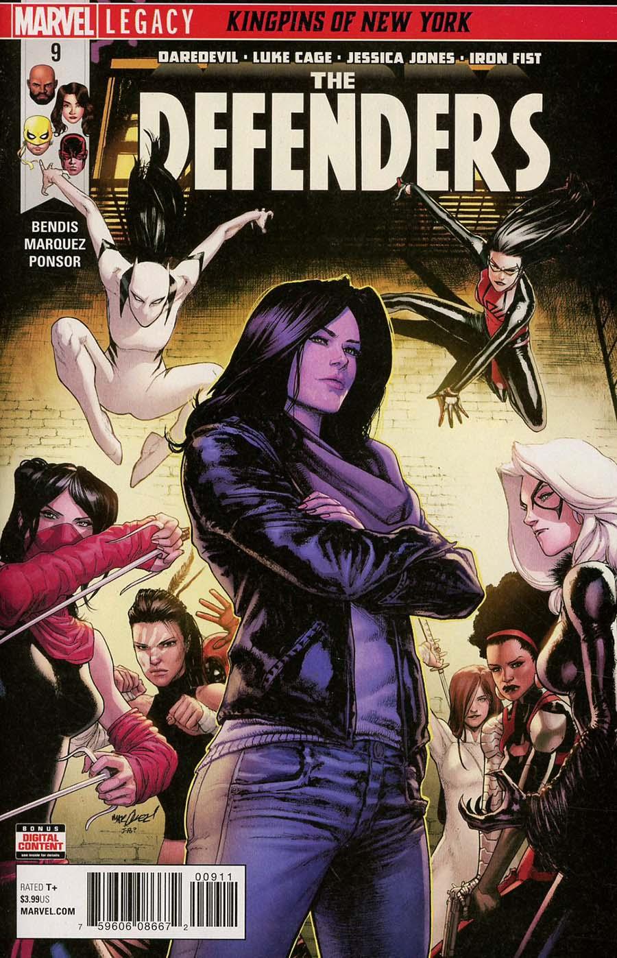 Defenders Vol 5 #9 (Marvel Legacy Tie-In)