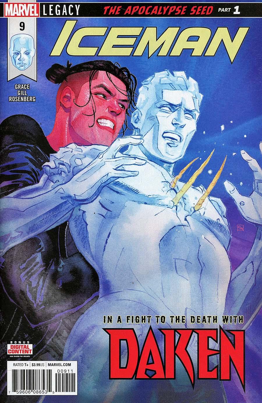 Iceman Vol 3 #9 (Marvel Legacy Tie-In)
