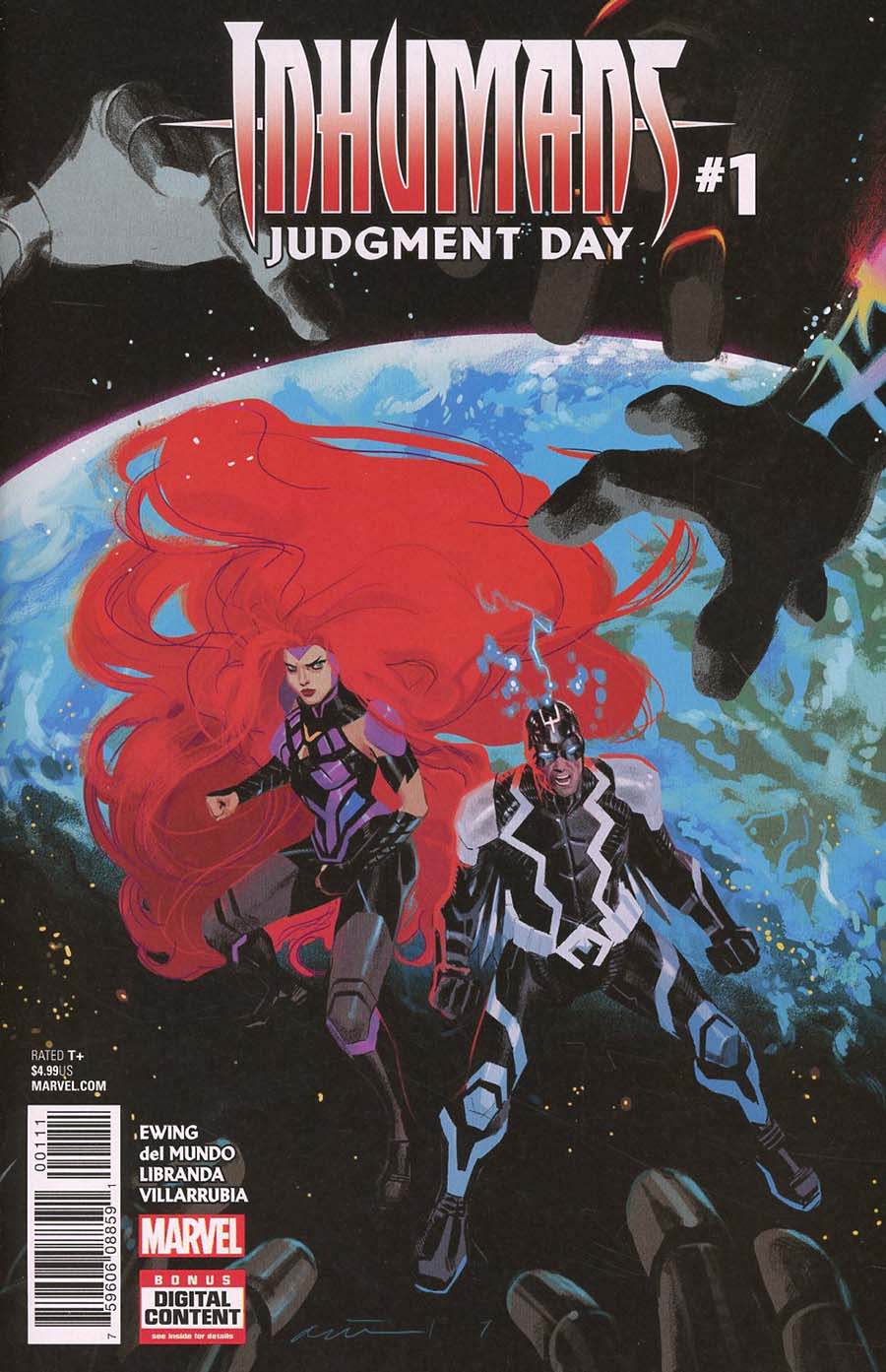 Inhumans Judgment Day #1 Cover A Regular Daniel Acuna Cover (Marvel Legacy Tie-In)