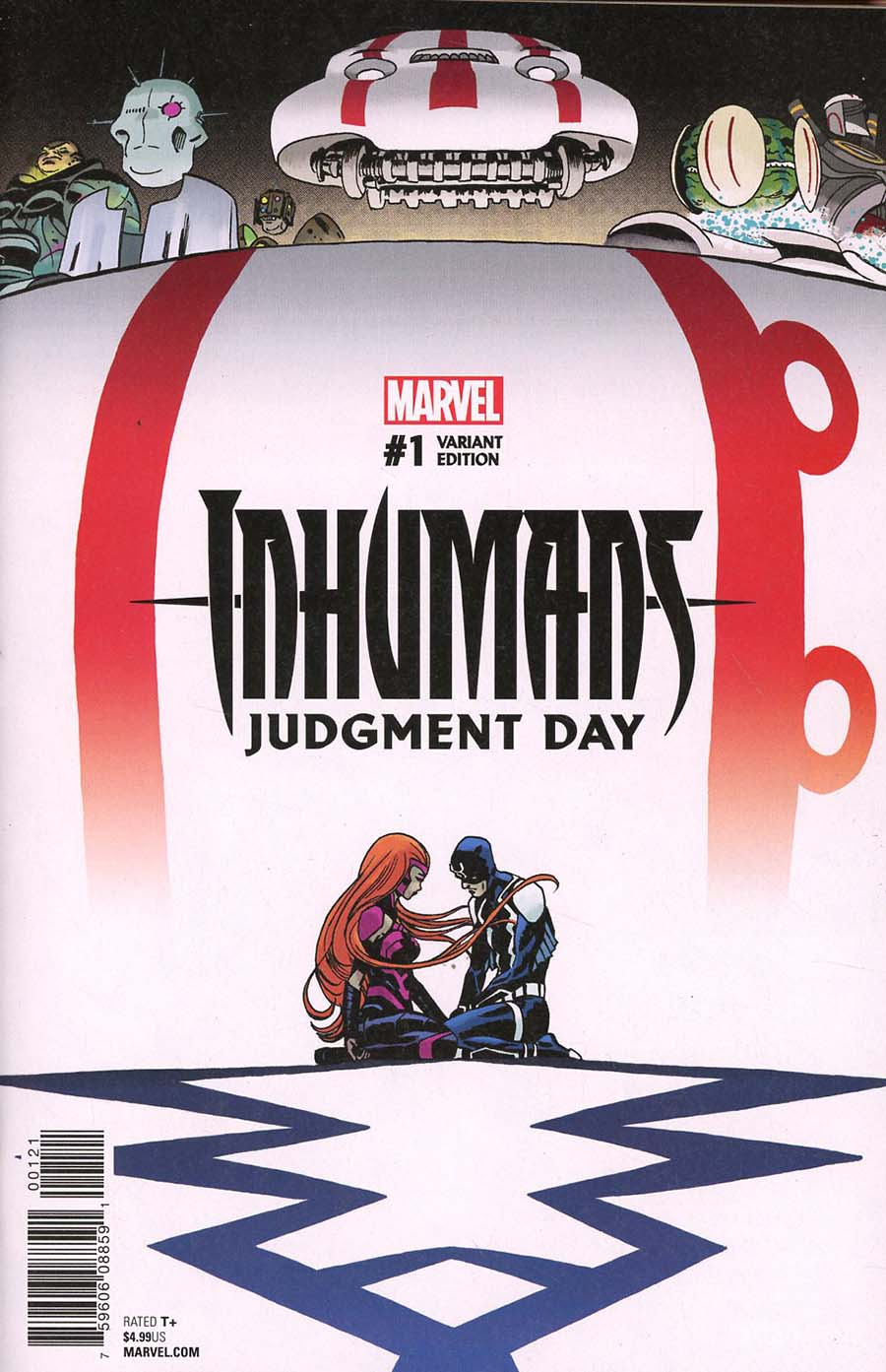 Inhumans Judgment Day #1 Cover B Variant Marcos Martin Cover (Marvel Legacy Tie-In)