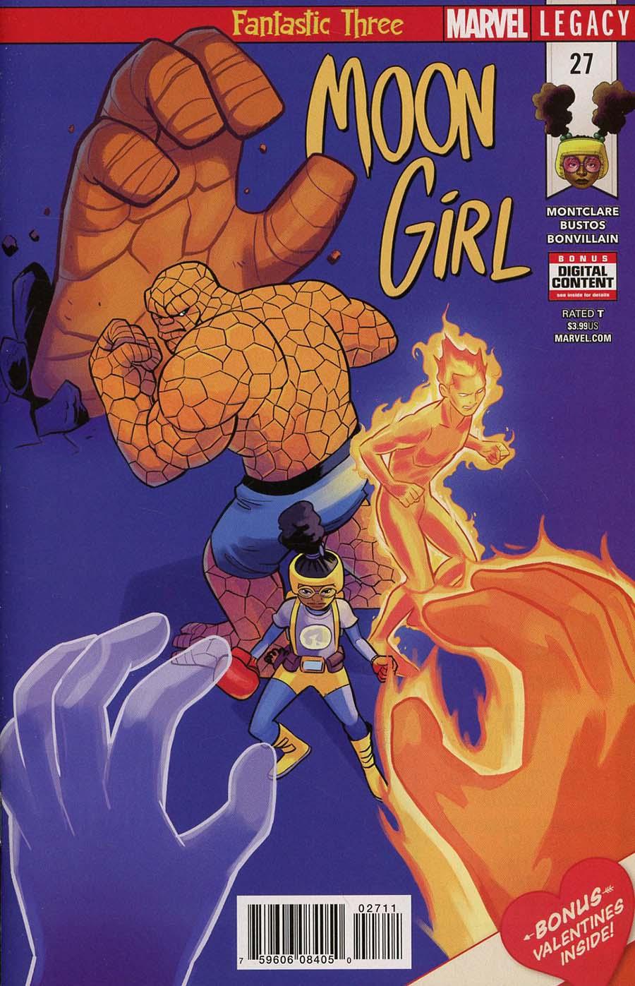 Moon Girl And Devil Dinosaur #27 (Marvel Legacy Tie-In)