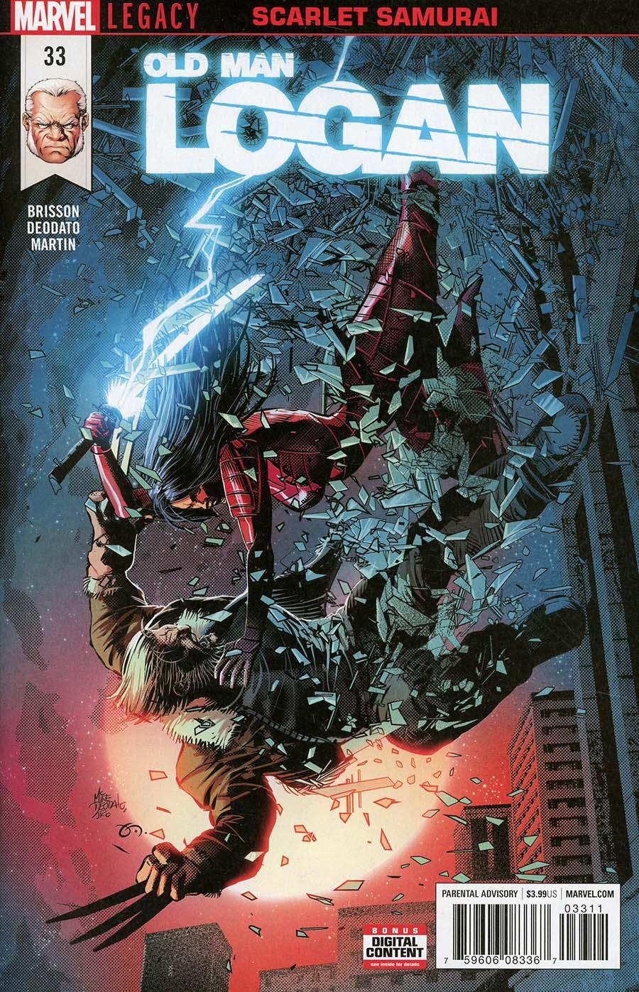 Old Man Logan Vol 2 #33 (Marvel Legacy Tie-In)