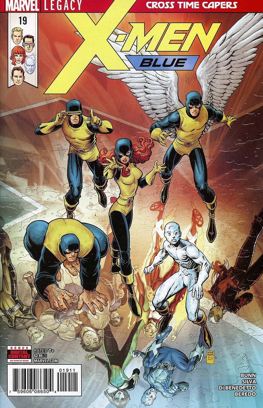 X-Men Blue #19 (Marvel Legacy Tie-In)