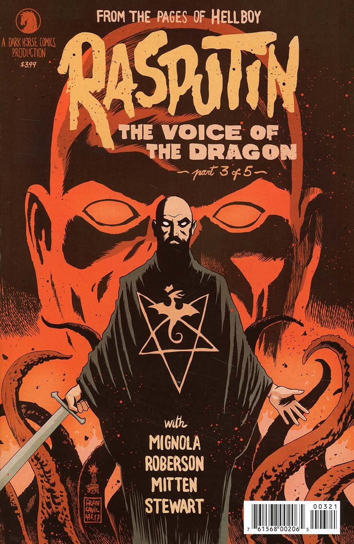 Rasputin Voice Of The Dragon #3 Cover B Variant Francesco Francavilla Cover