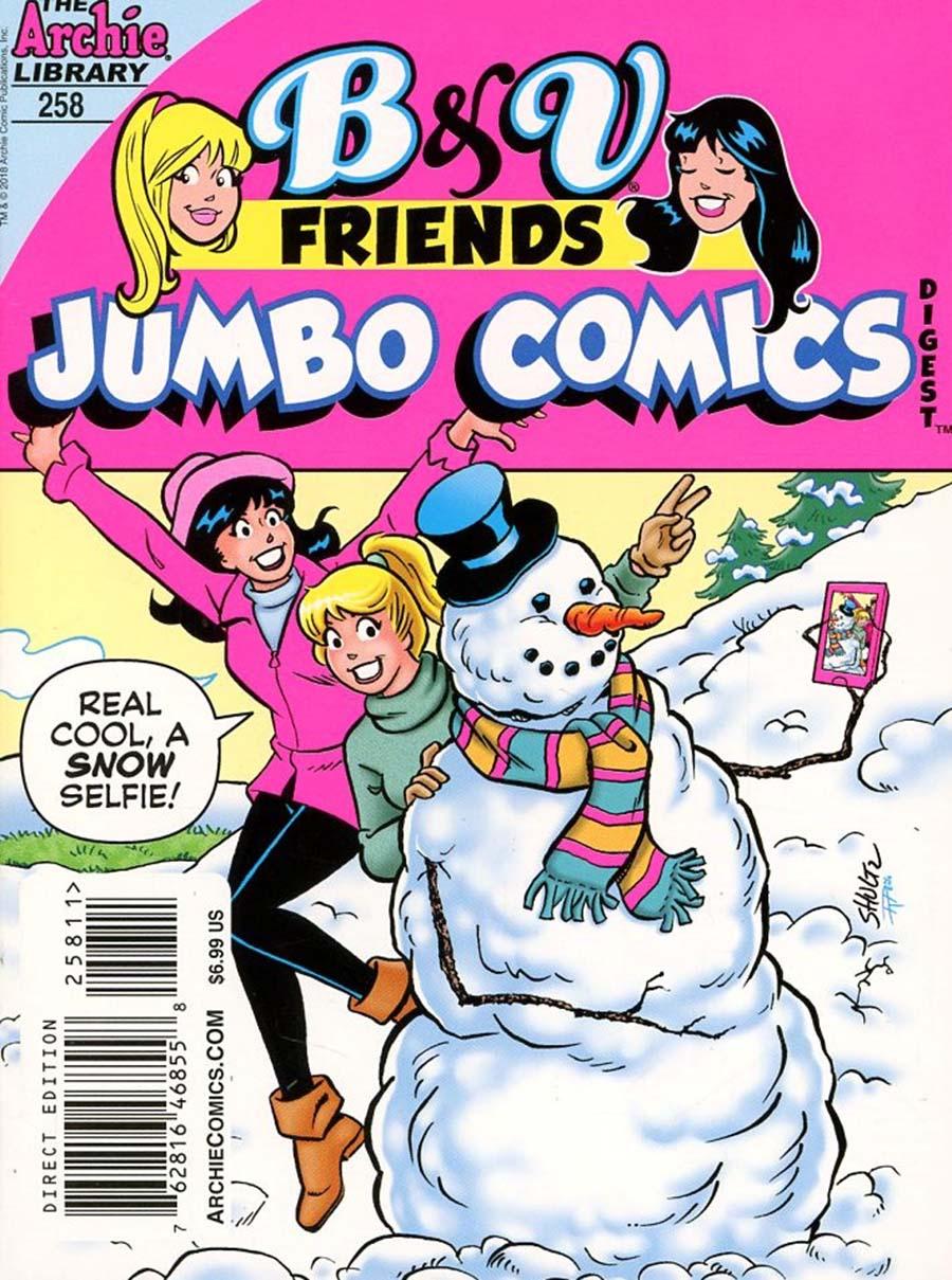 B & V Friends Jumbo Comics Digest #258