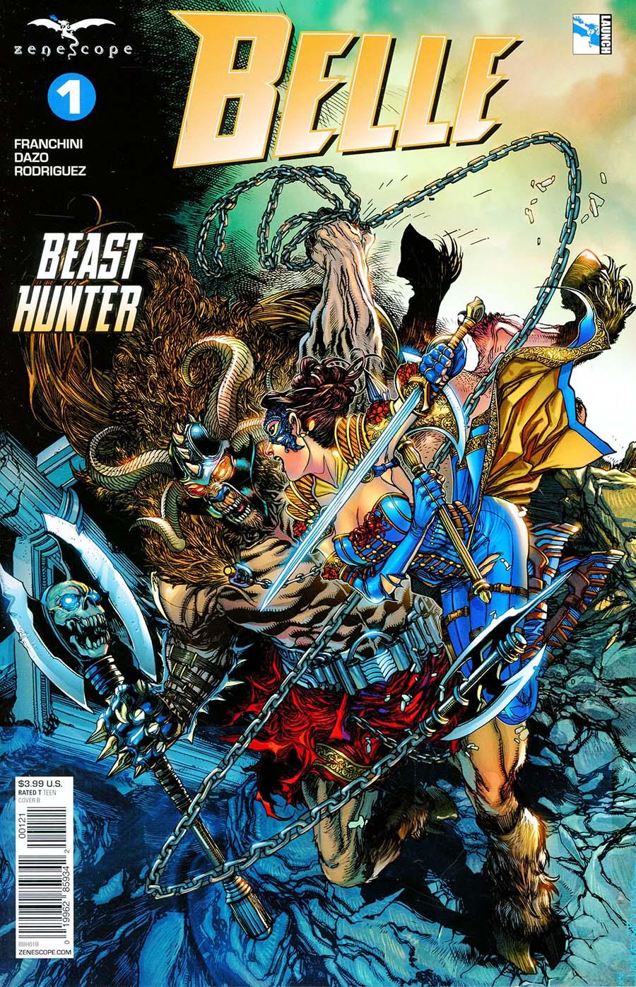 Grimm Fairy Tales Presents Belle Beast Hunter #1 Cover B Harvey Tolibao