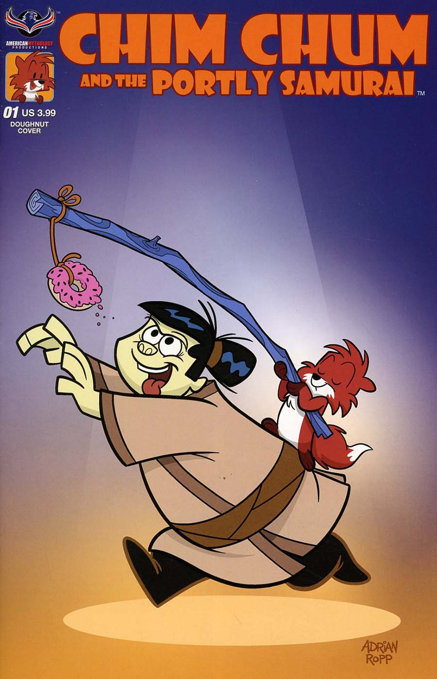 Chim Chum And The Portly Samurai #1 Cover B Variant Adrian Ropp Doughnut Cover