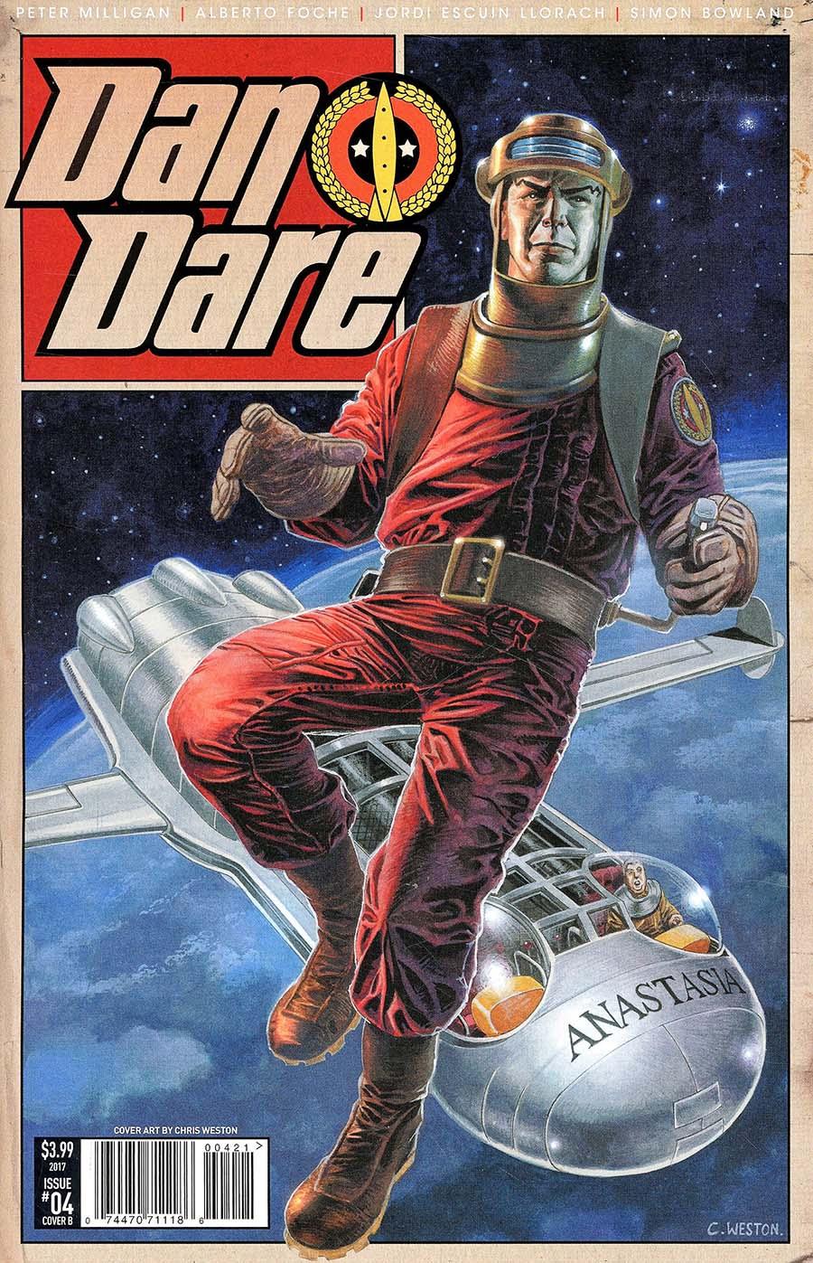 Dan Dare Vol 2 #4 Cover B Weston