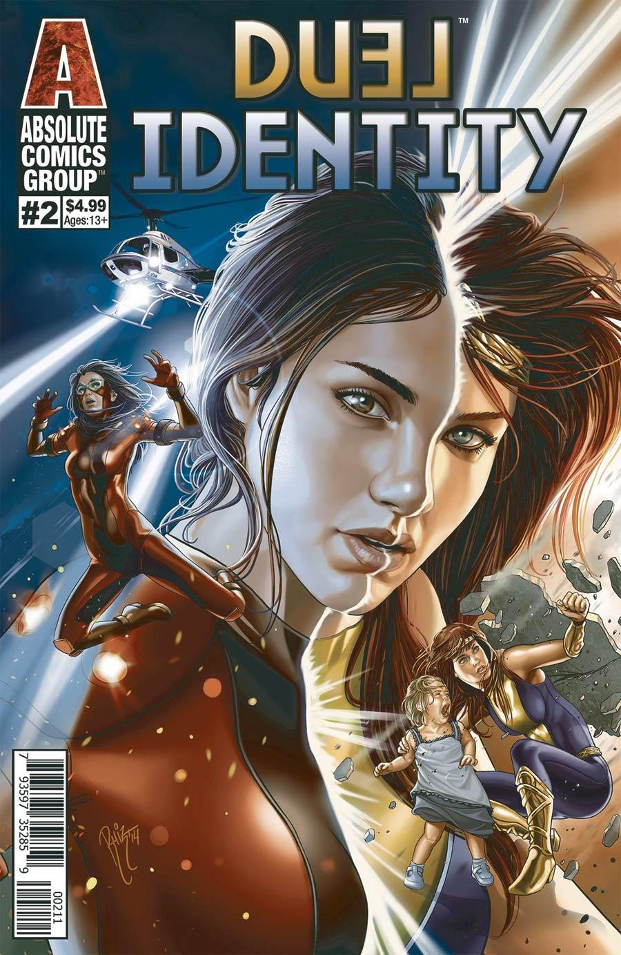 Duel Identity #2 Cover A Regular Ruiz Burgos Cover