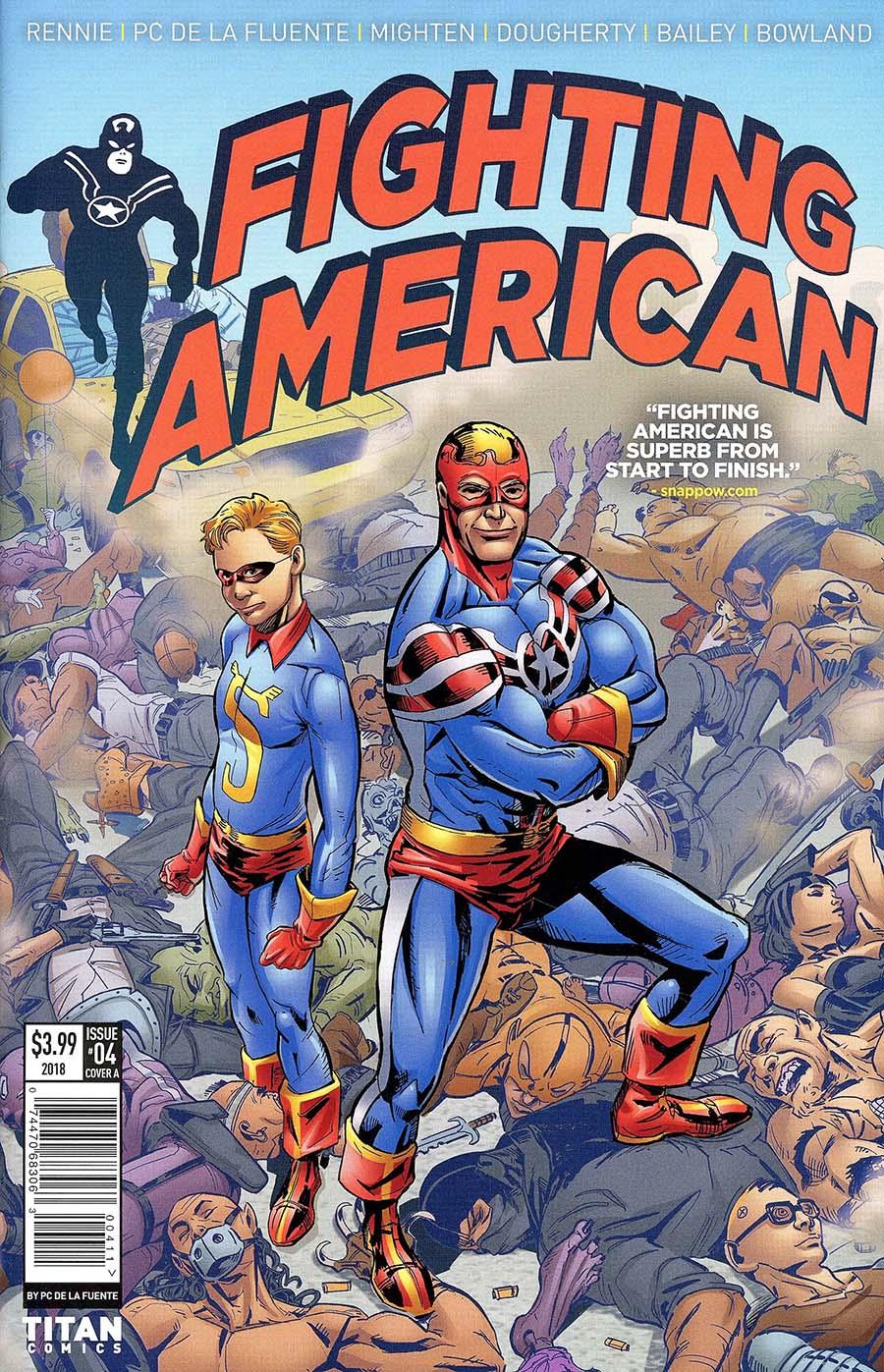 Fighting American Vol 4 #4 Cover A Regular Francisco De La Fuente Cover