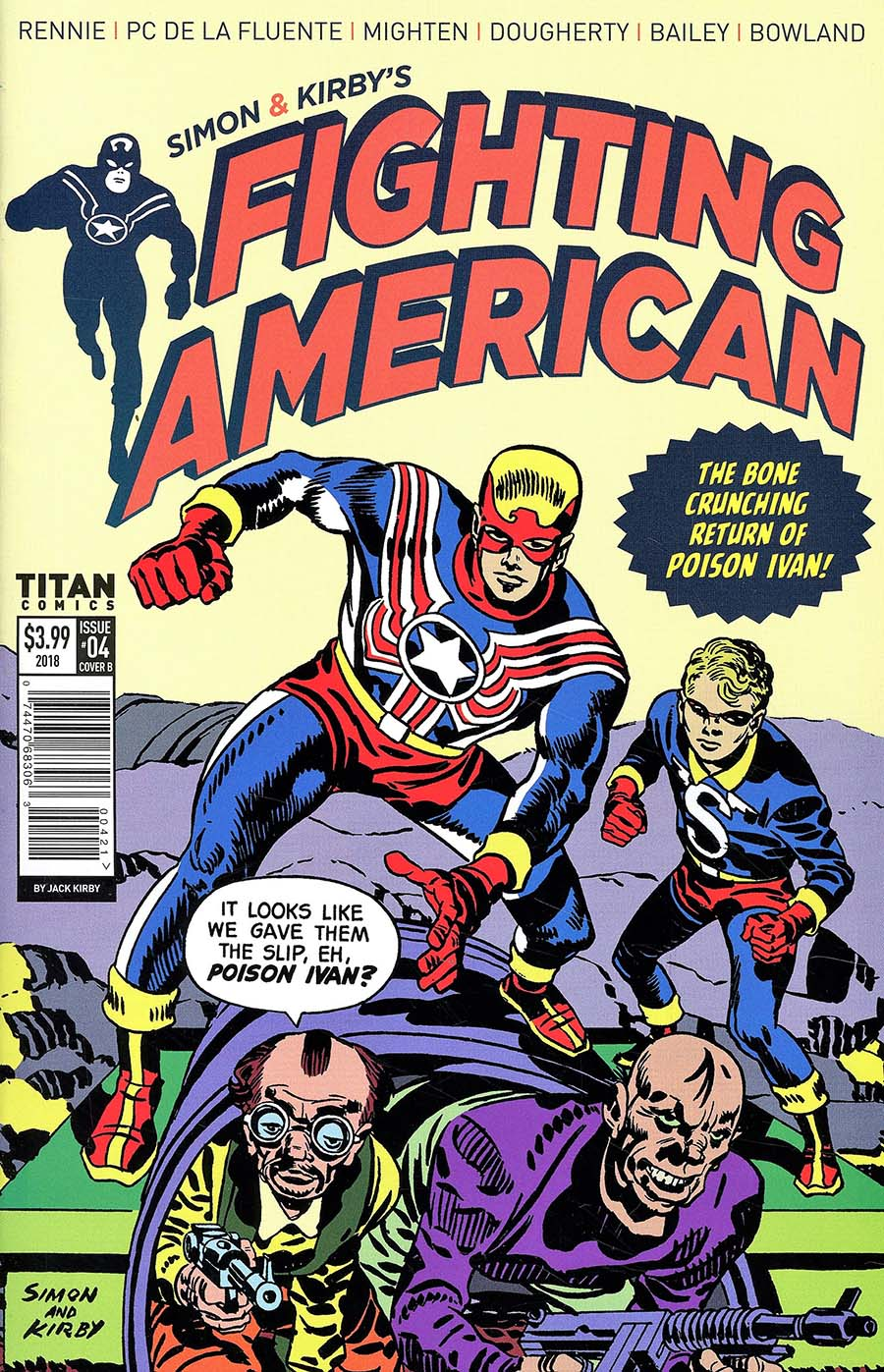 Fighting American Vol 4 #4 Cover B Variant Jack Kirby Cover