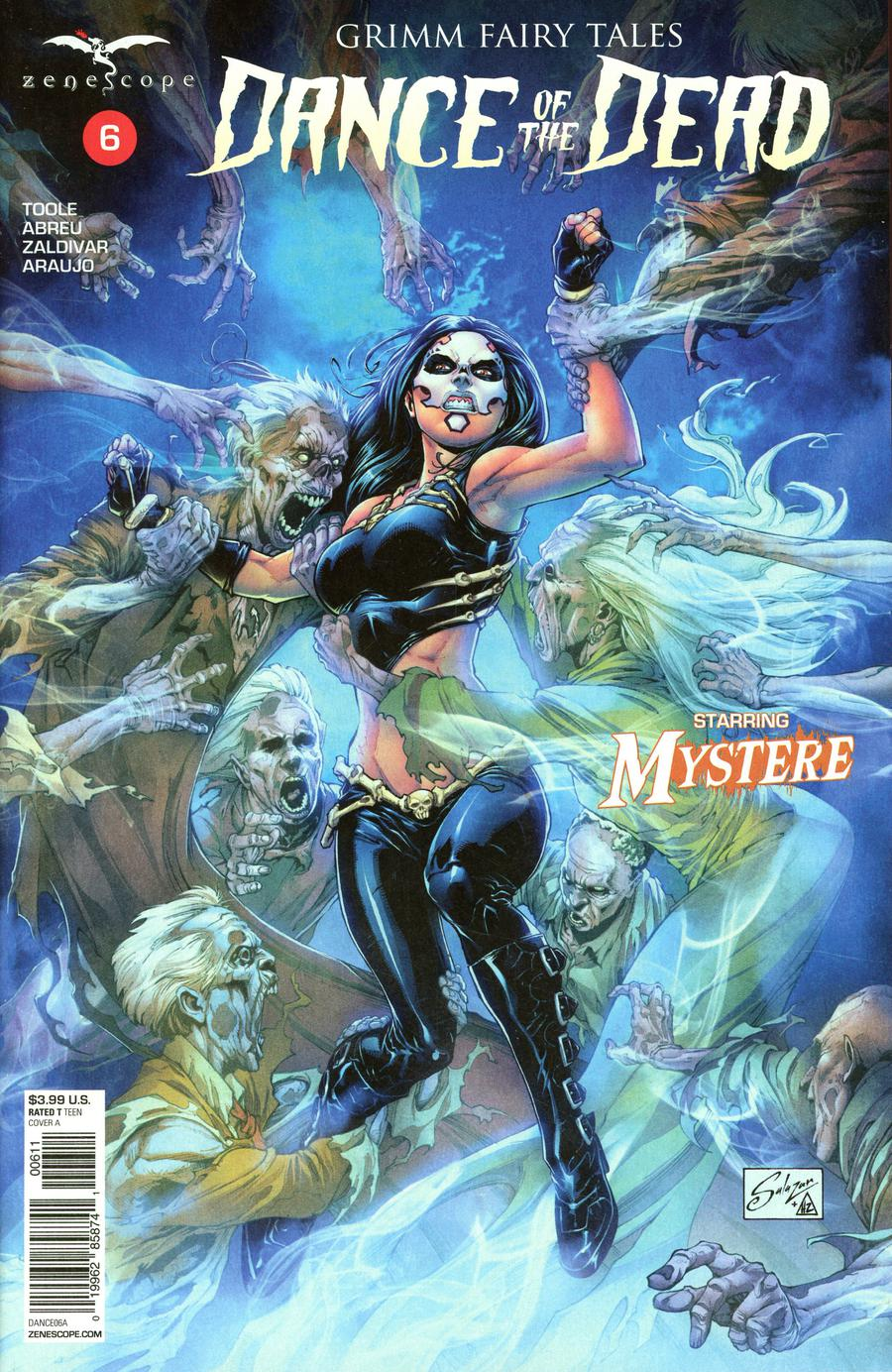 Grimm Fairy Tales Presents Dance Of The Dead #6 Cover A Edgar Salazar
