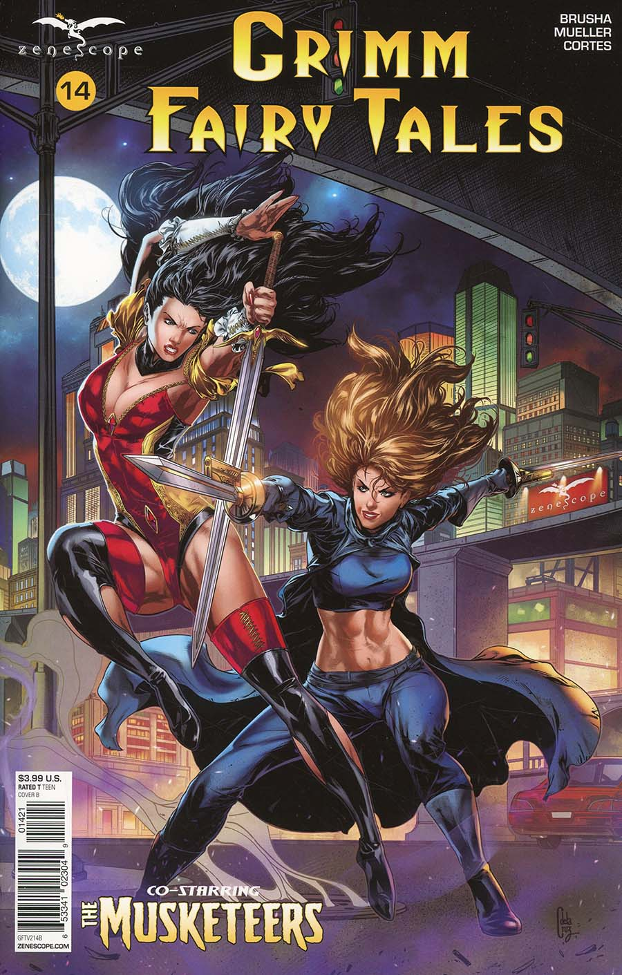 Grimm Fairy Tales Vol 2 #14 Cover B Canaan White