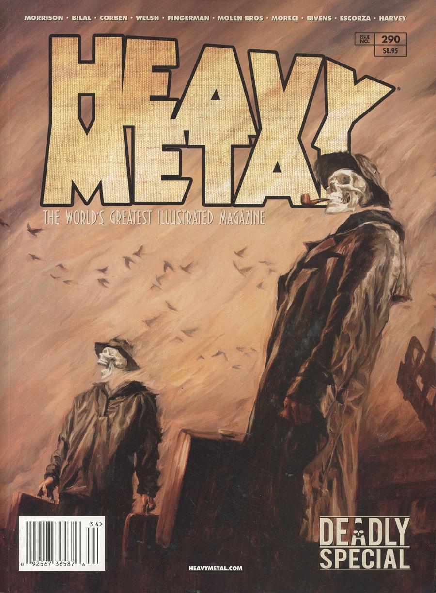 Heavy Metal #290 Cover B Shane Pierce