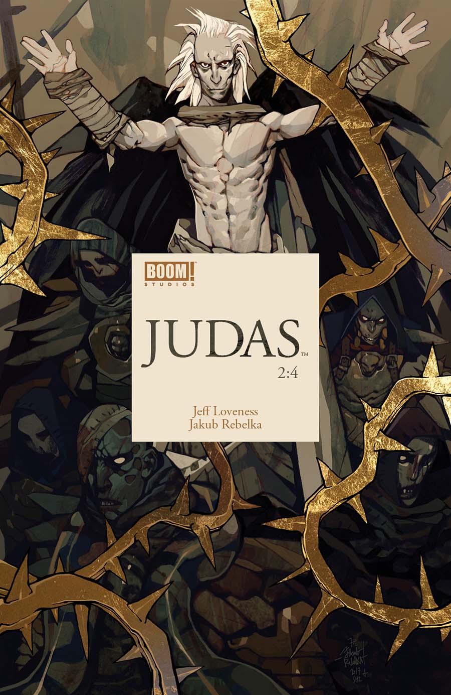 Judas #2 Cover A Regular Jakub Rebelka Cover