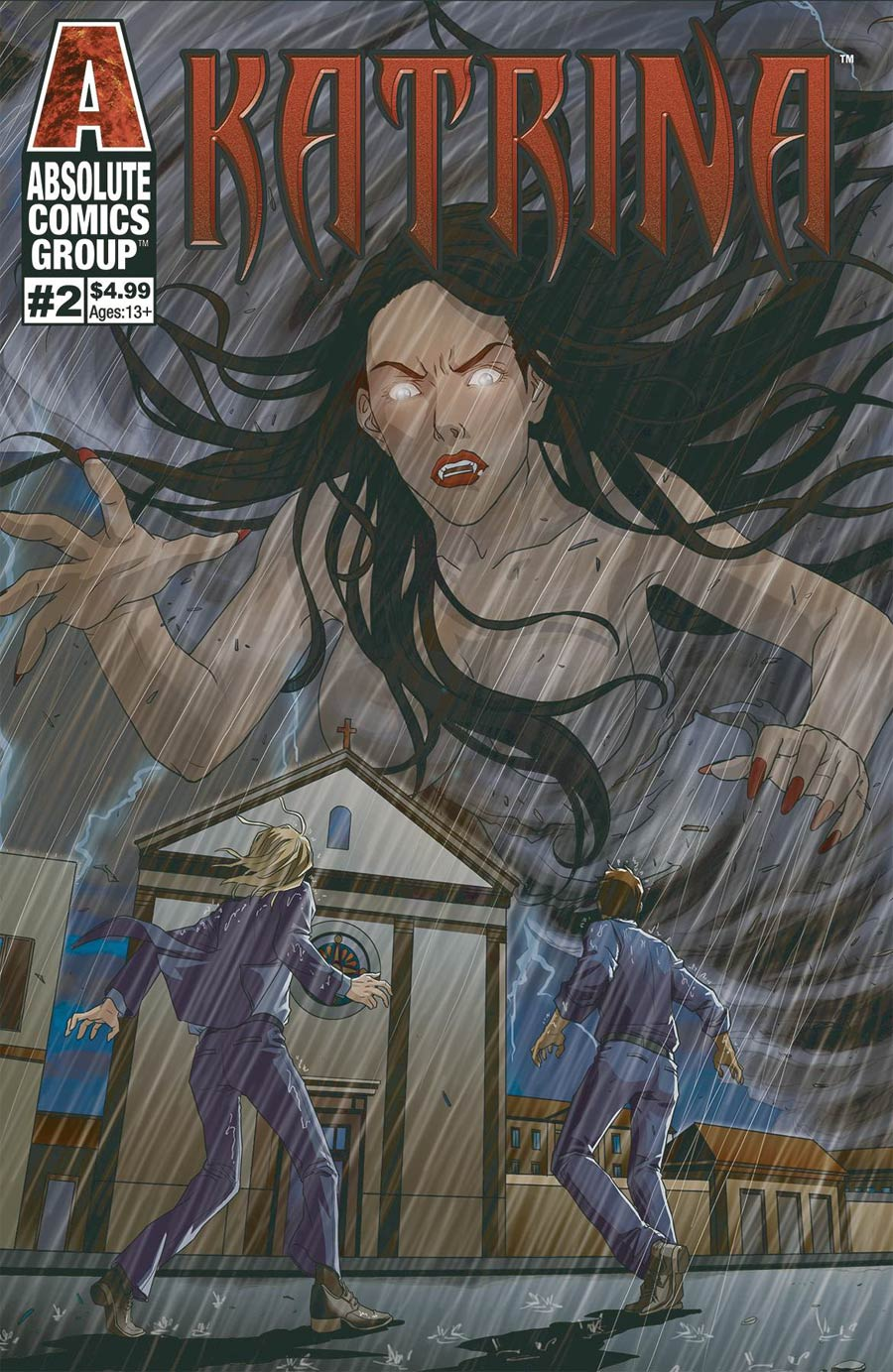 Katrina #2 Cover A Regular Twinkle Planet Cover