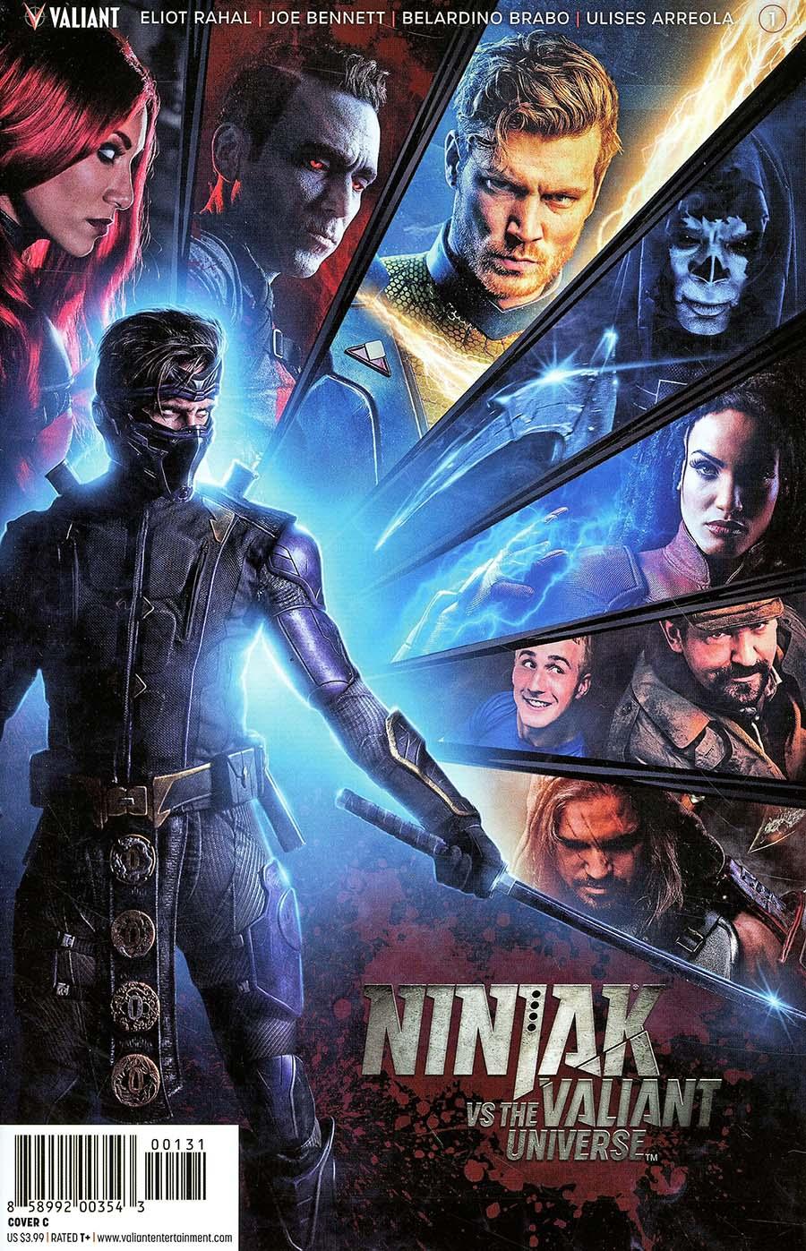 Ninjak vs The Valiant Universe #1 Cover C Variant Photo Cover