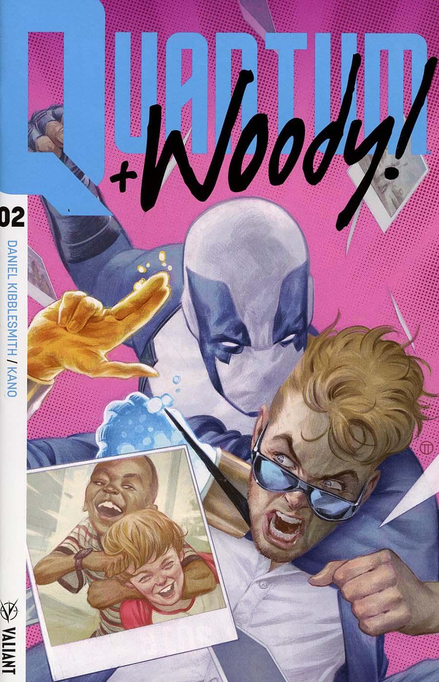 Quantum & Woody Vol 4 #2 Cover A Regular Julian Totino Tedesco Cover