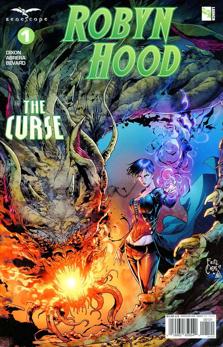 Grimm Fairy Tales Presents Robyn Hood The Curse #1 Cover B Fritz Casas