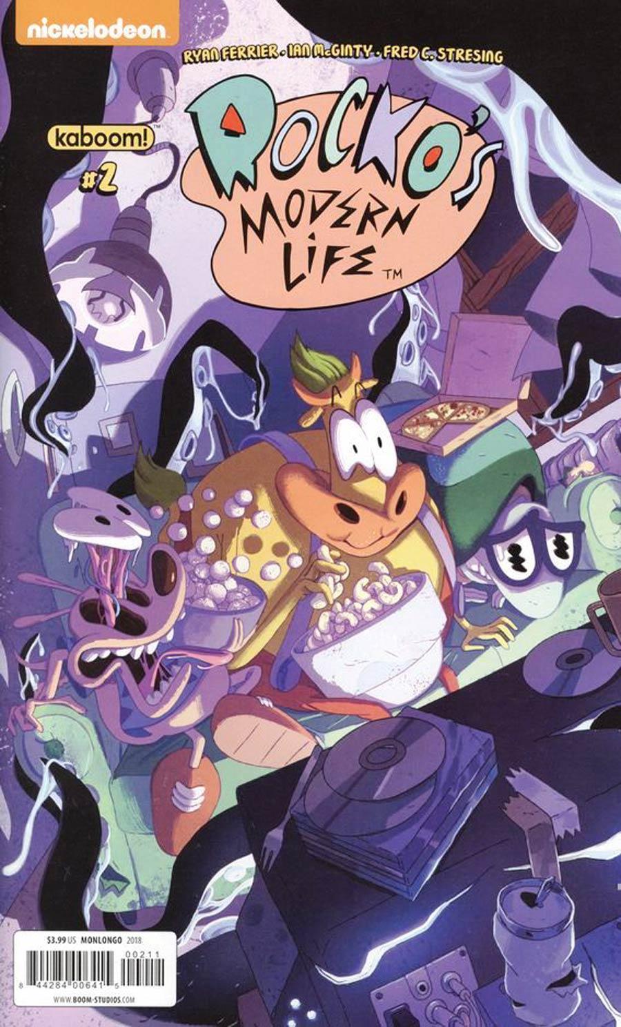 Rockos Modern Life Vol 2 #2 Cover A Regular Jorge Monlongo Cover