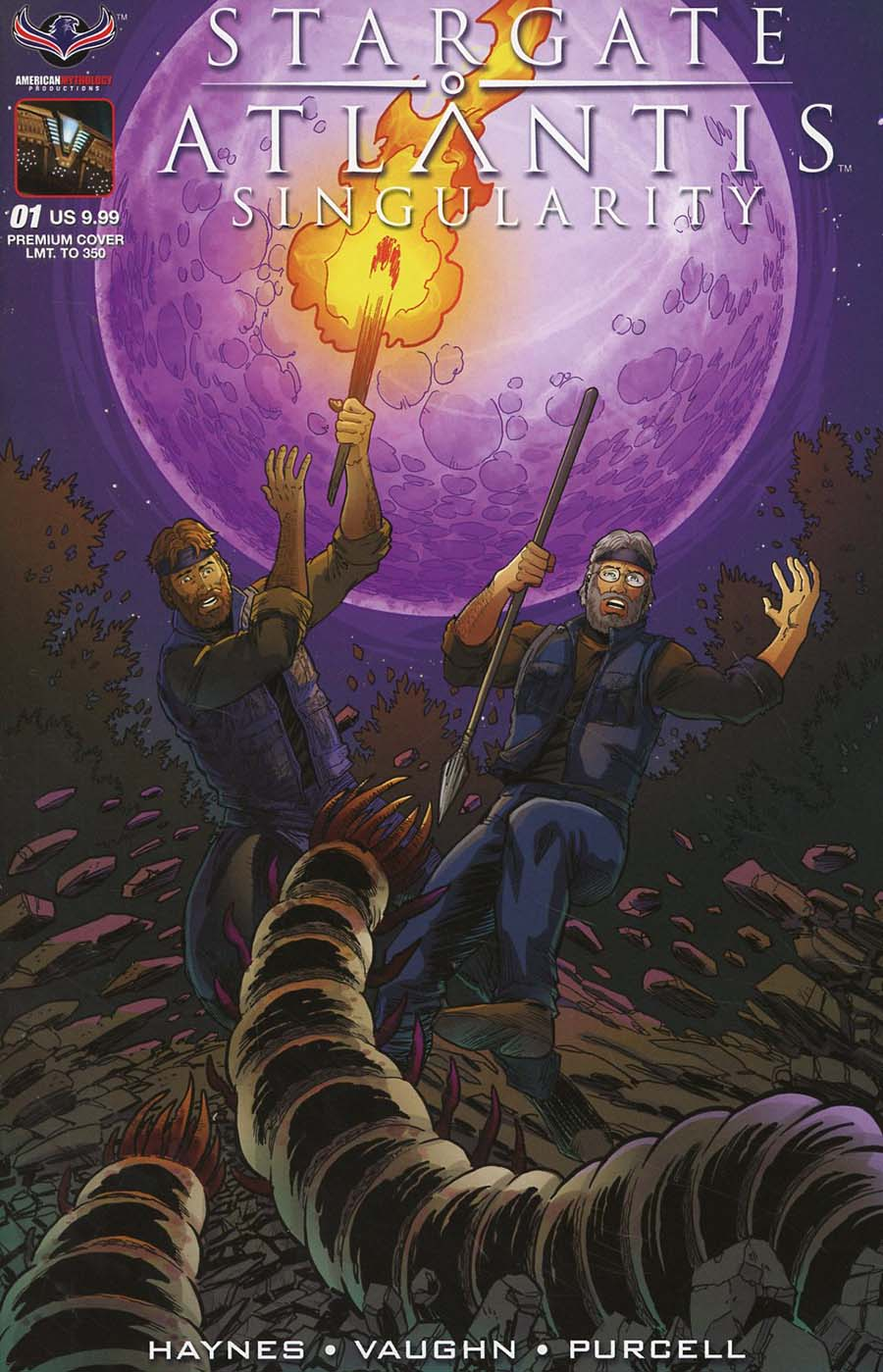 Stargate Atlantis Singularity #1 Cover C Variant Clint Hilinski Premium Limited Edition Cover