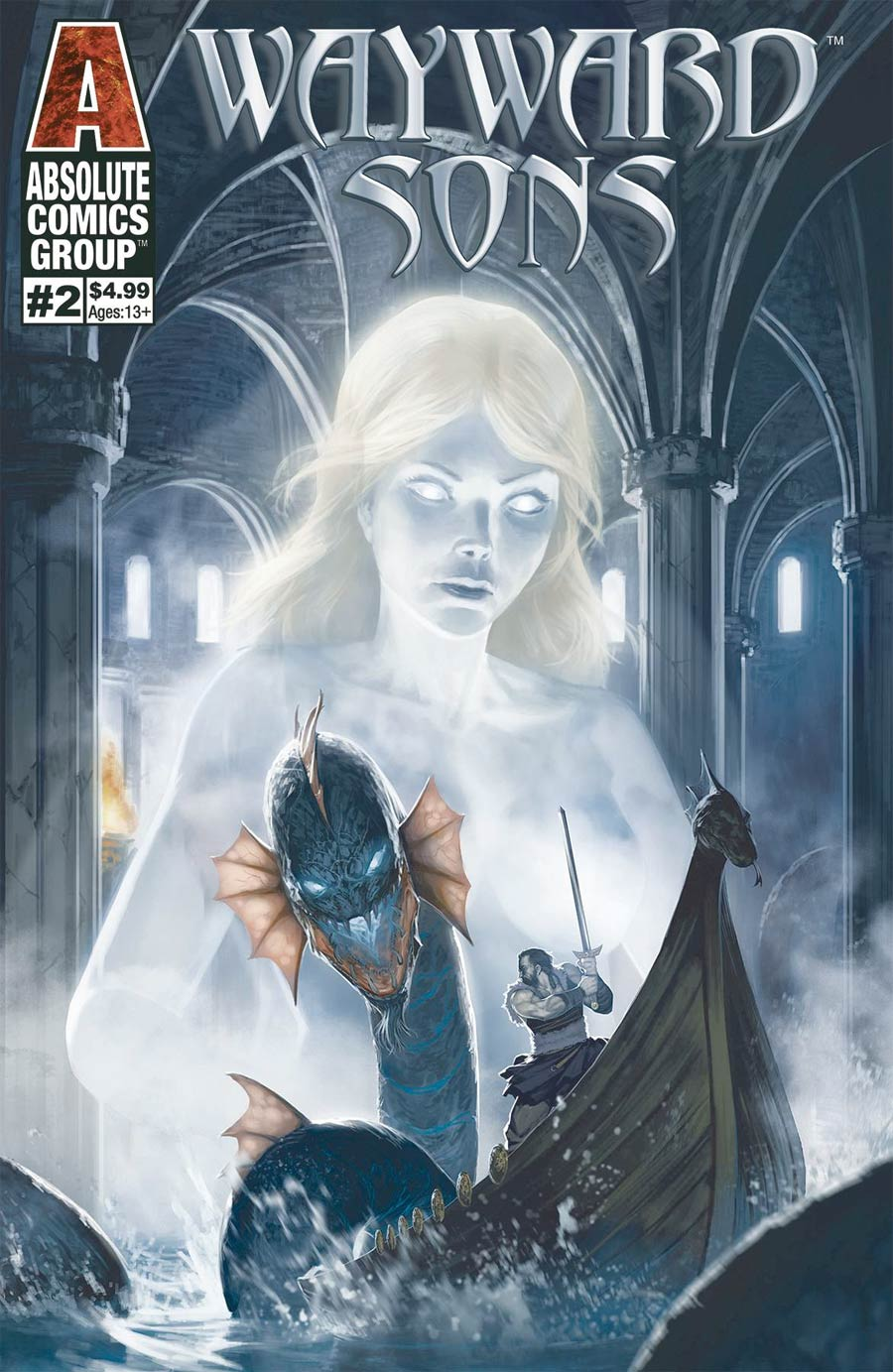 Wayward Sons #2 Cover A Regular Nigel Raynor Cover